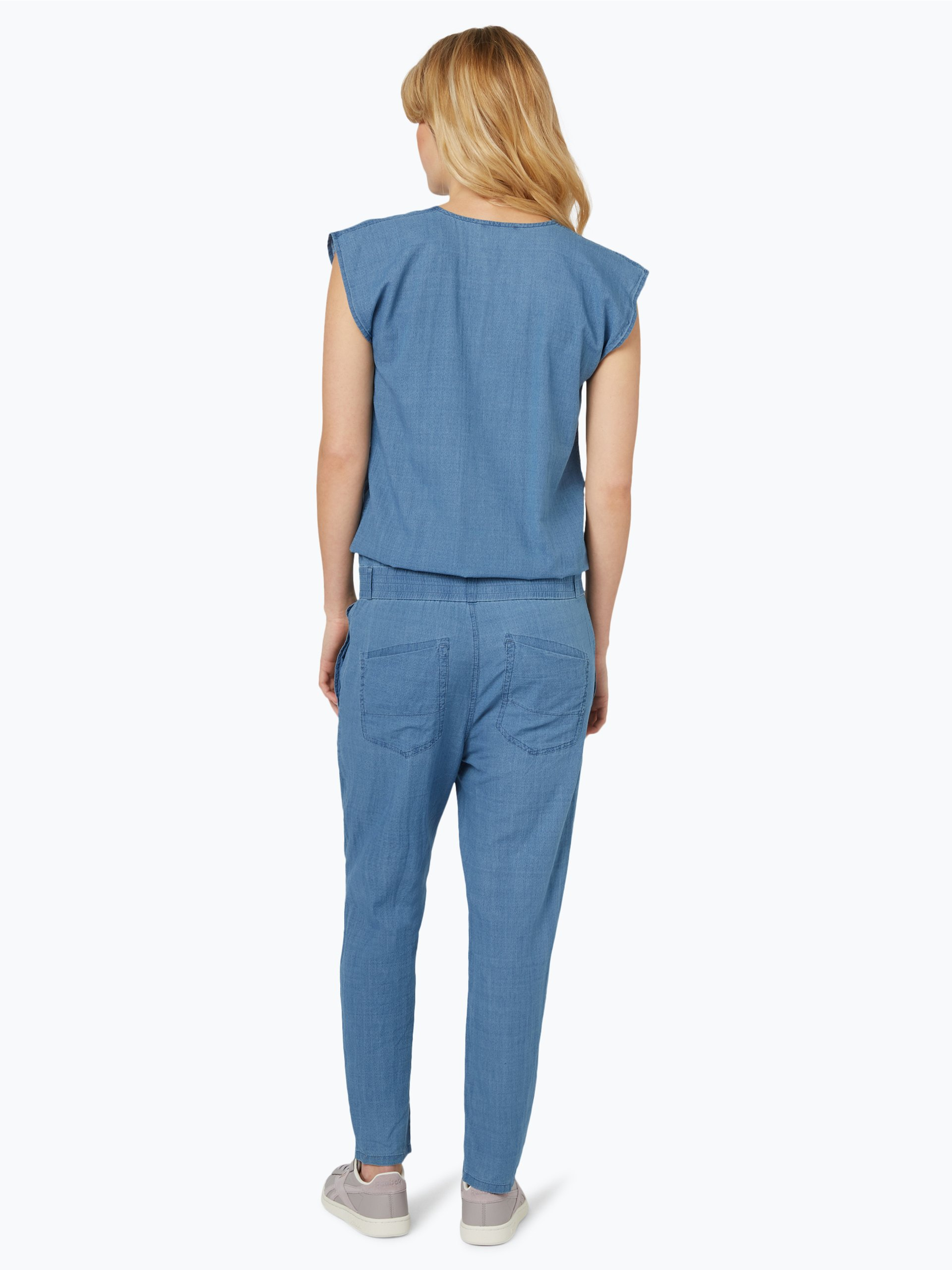 drykorn damen jeans jumpsuit tova blau uni online kaufen. Black Bedroom Furniture Sets. Home Design Ideas