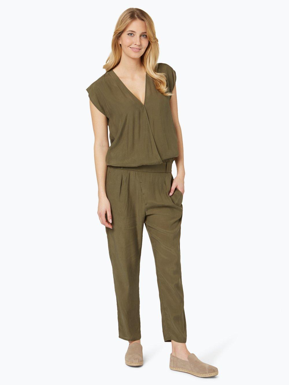 Drykorn Damen Jumpsuit - Tova oliv weiß uni online kaufen | VANGRAAF.COM