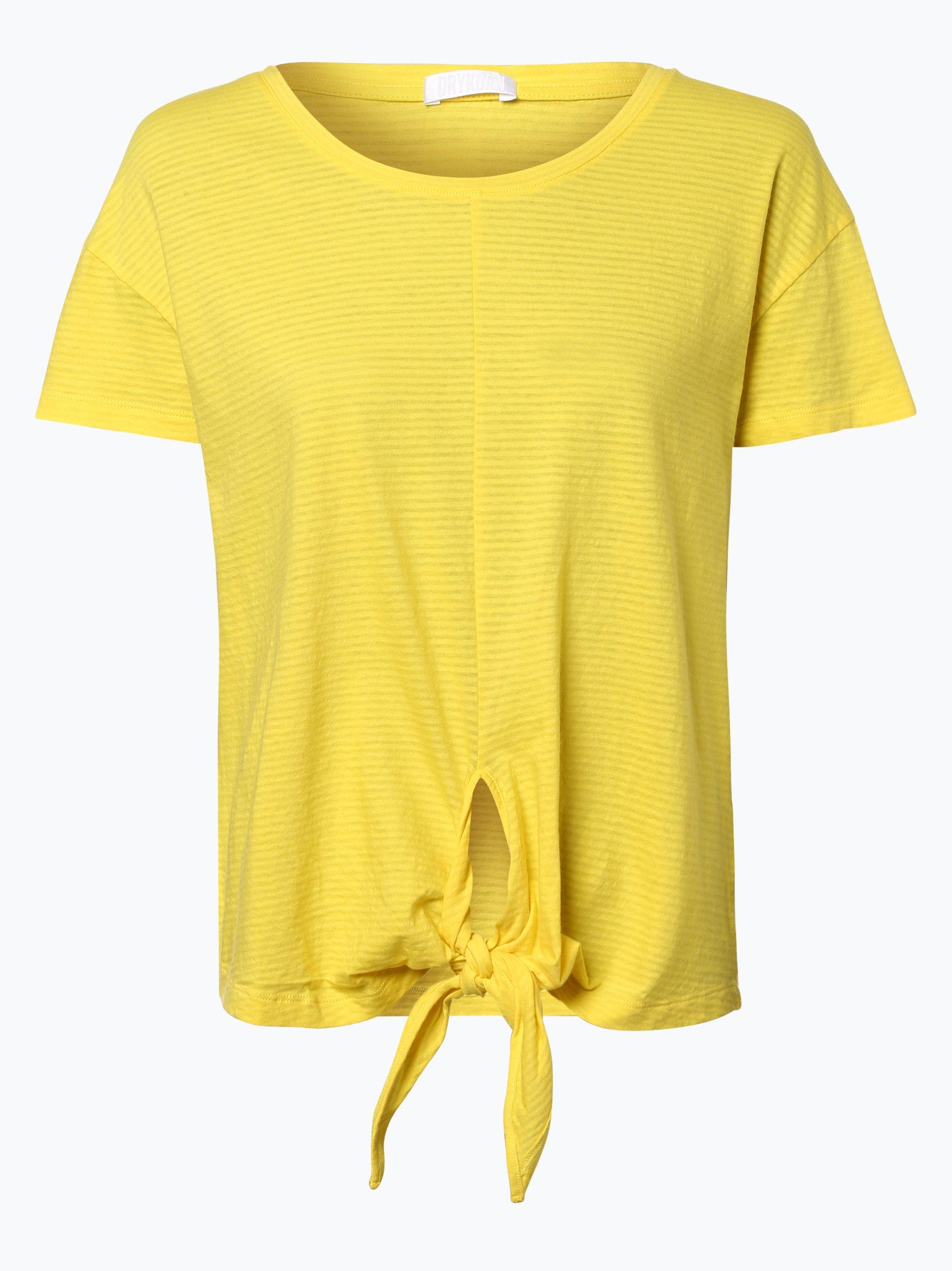 Damen T-Shirt - Shea gelb Drykorn