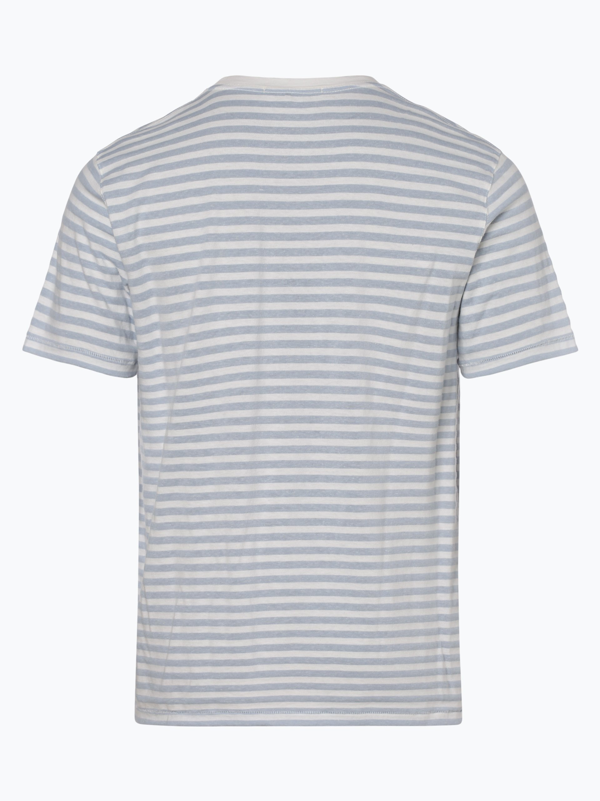 Drykorn Herren T-Shirt mit Leinen-Anteil - Samuel