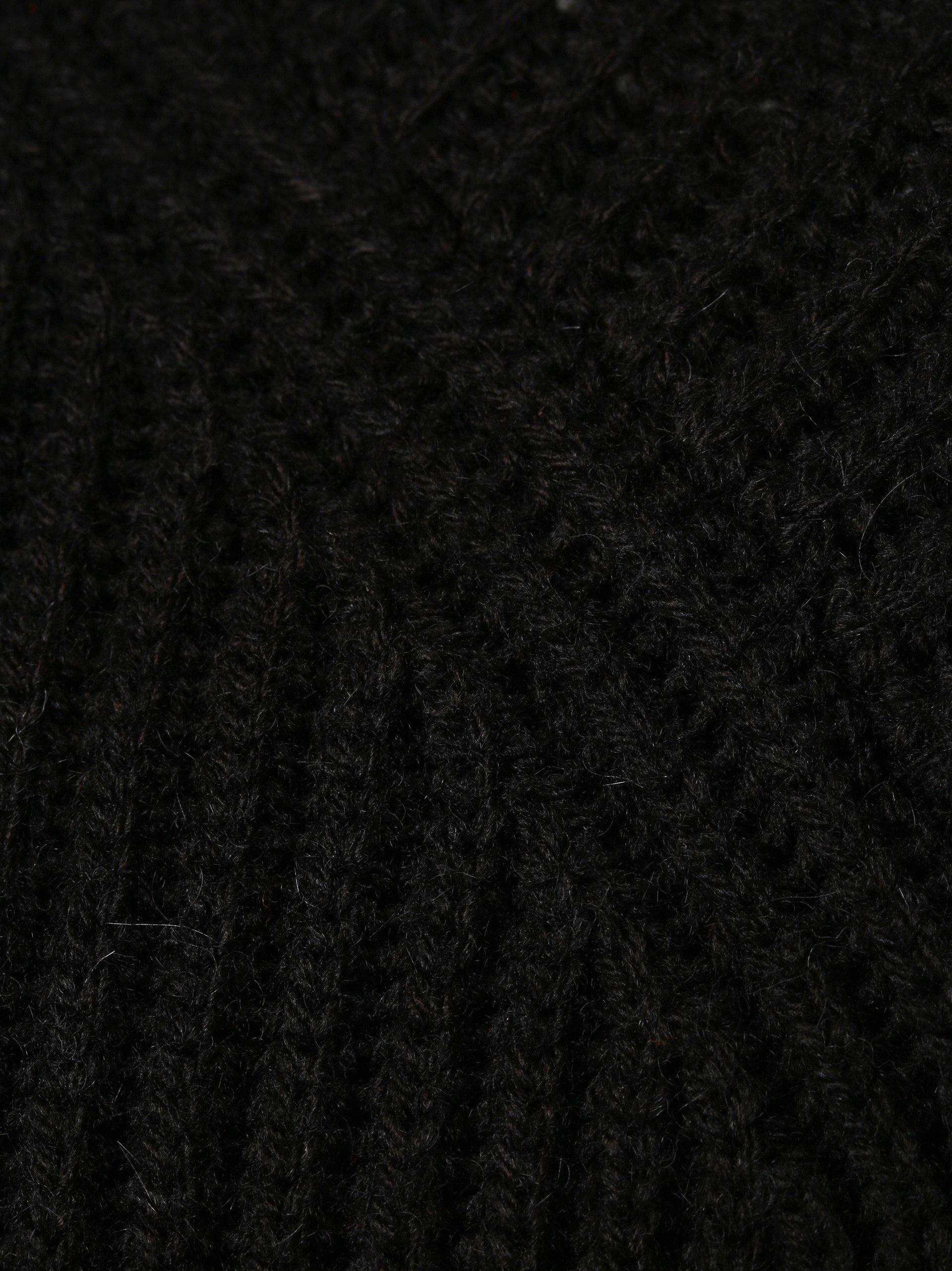 Drykorn Męska bluza nierozpinana z dodatkiem alpaki – Bato