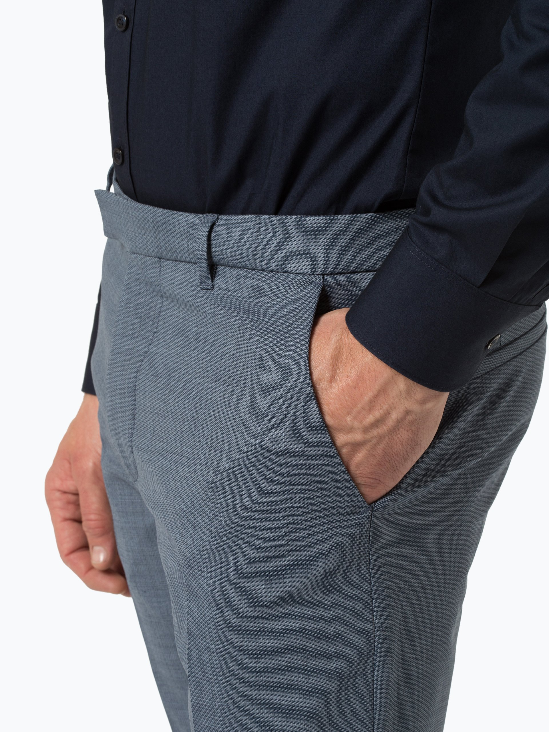 Drykorn Męskie spodnie od garnituru modułowego – Piet