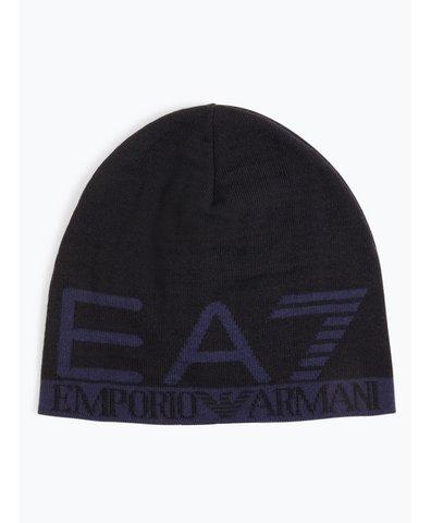 Dwustronna czapka męska