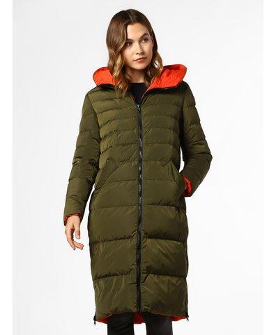 Dwustronny płaszcz pikowany damski
