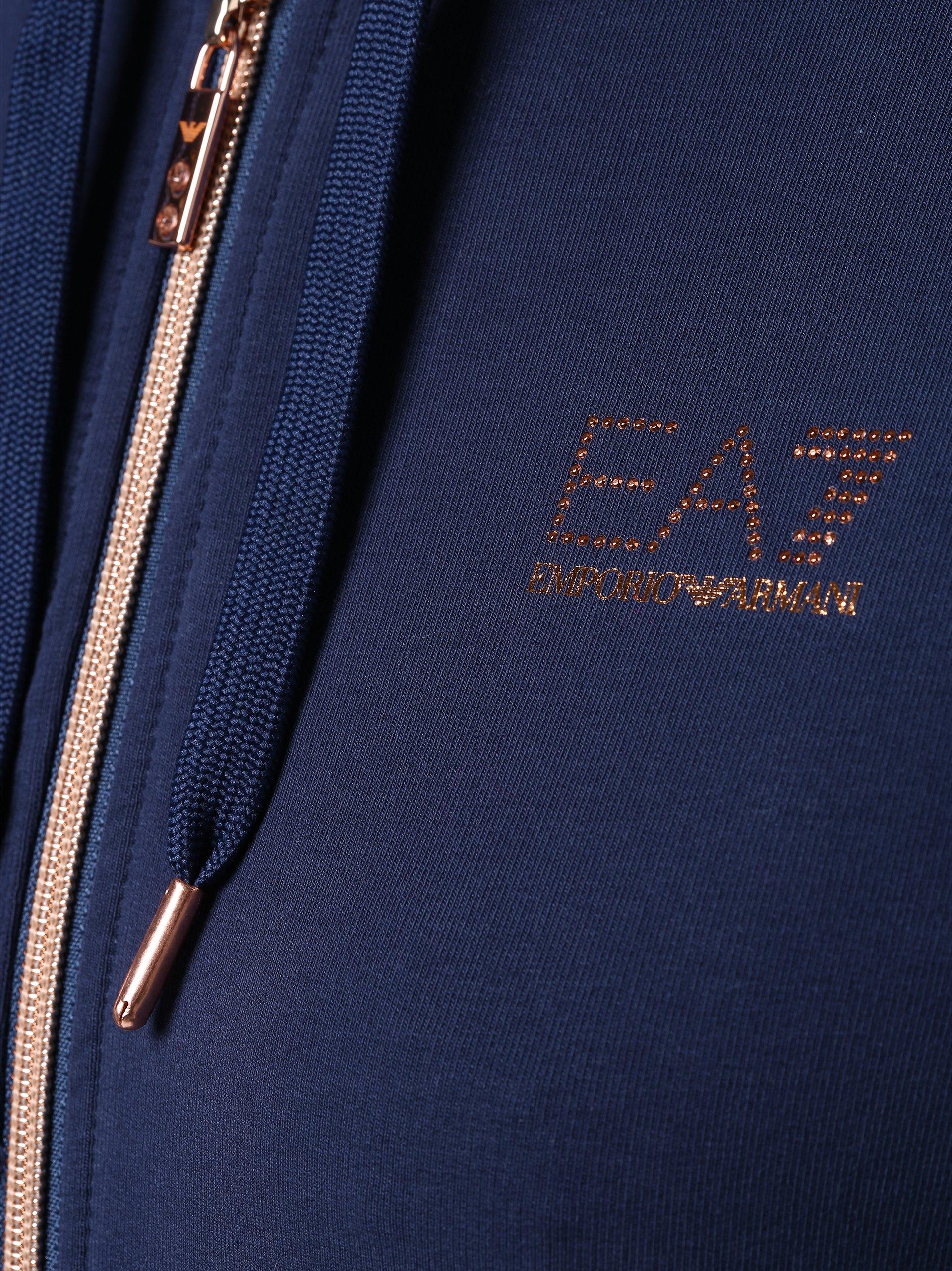 EA7 Damska bluza rozpinana