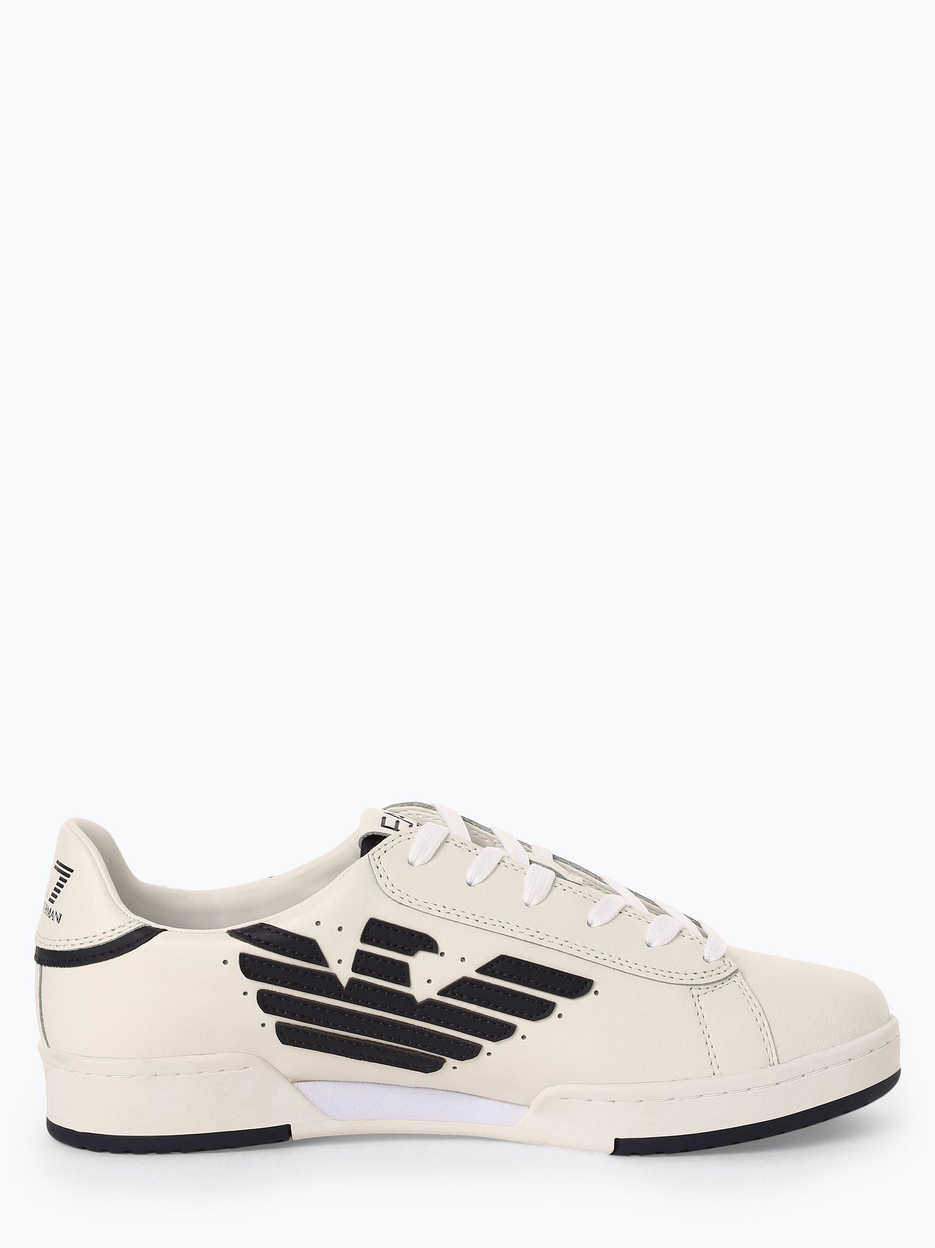 EA7 Emporio Armani Herren Sneaker mit Leder-Anteil