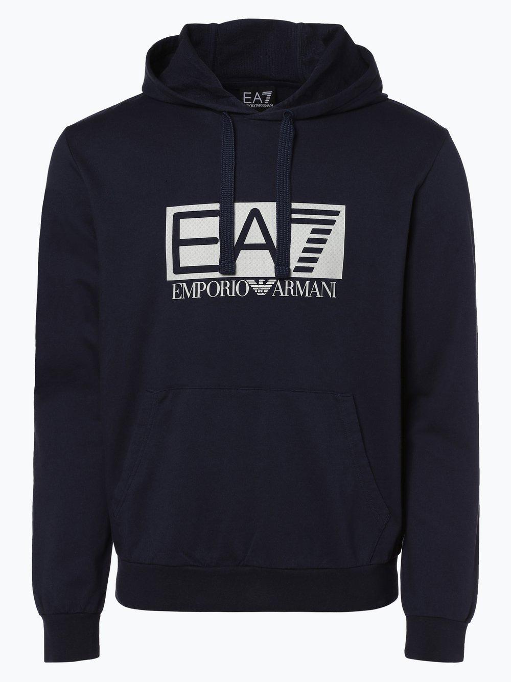 aa91955ed827 EA7 Emporio Armani Męska bluza nierozpinana kup online