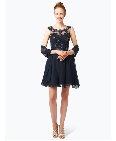 Elegancka sukienka damska z etolą