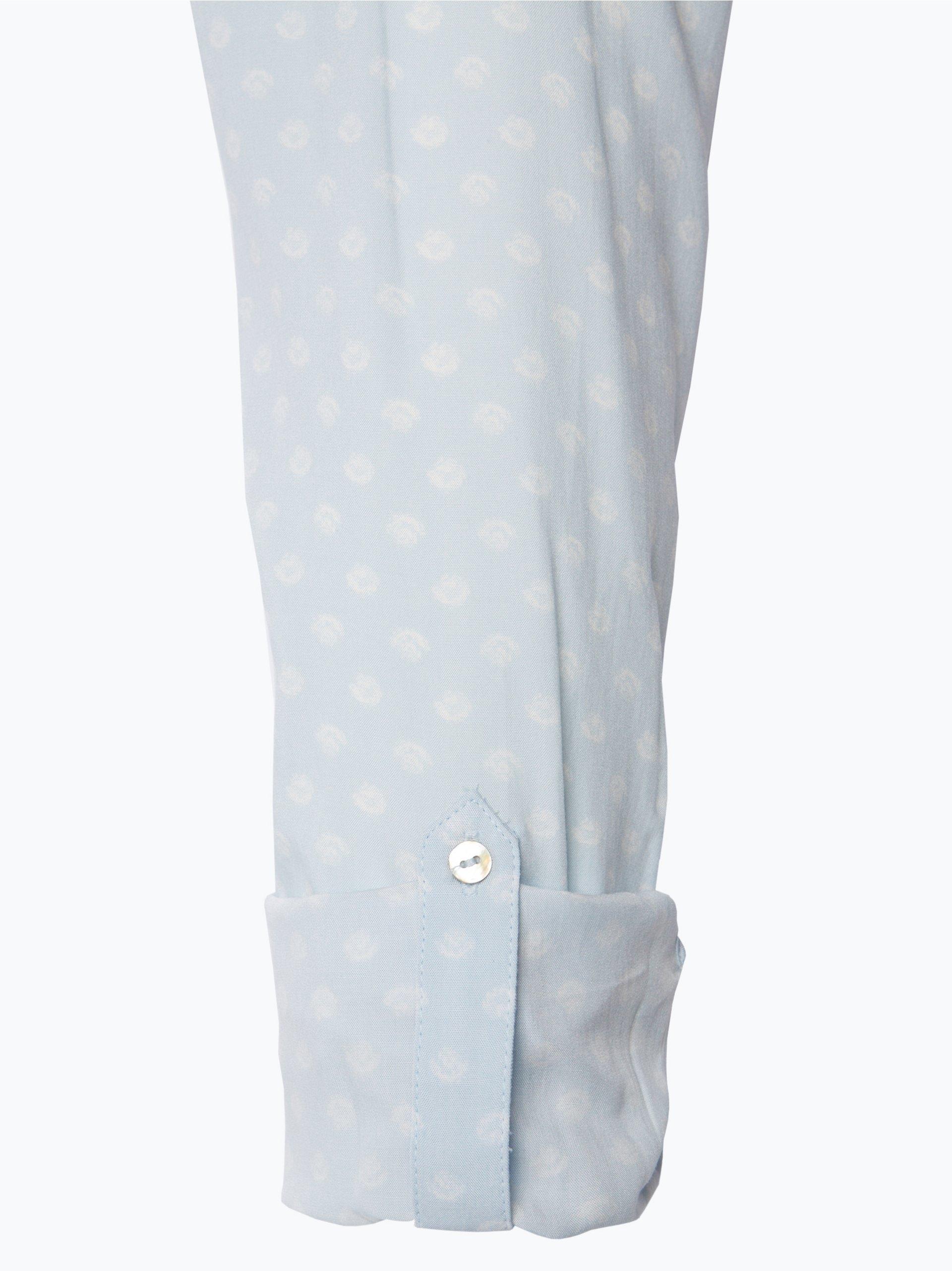 esprit casual damen bluse hellblau gepunktet online kaufen vangraaf com. Black Bedroom Furniture Sets. Home Design Ideas