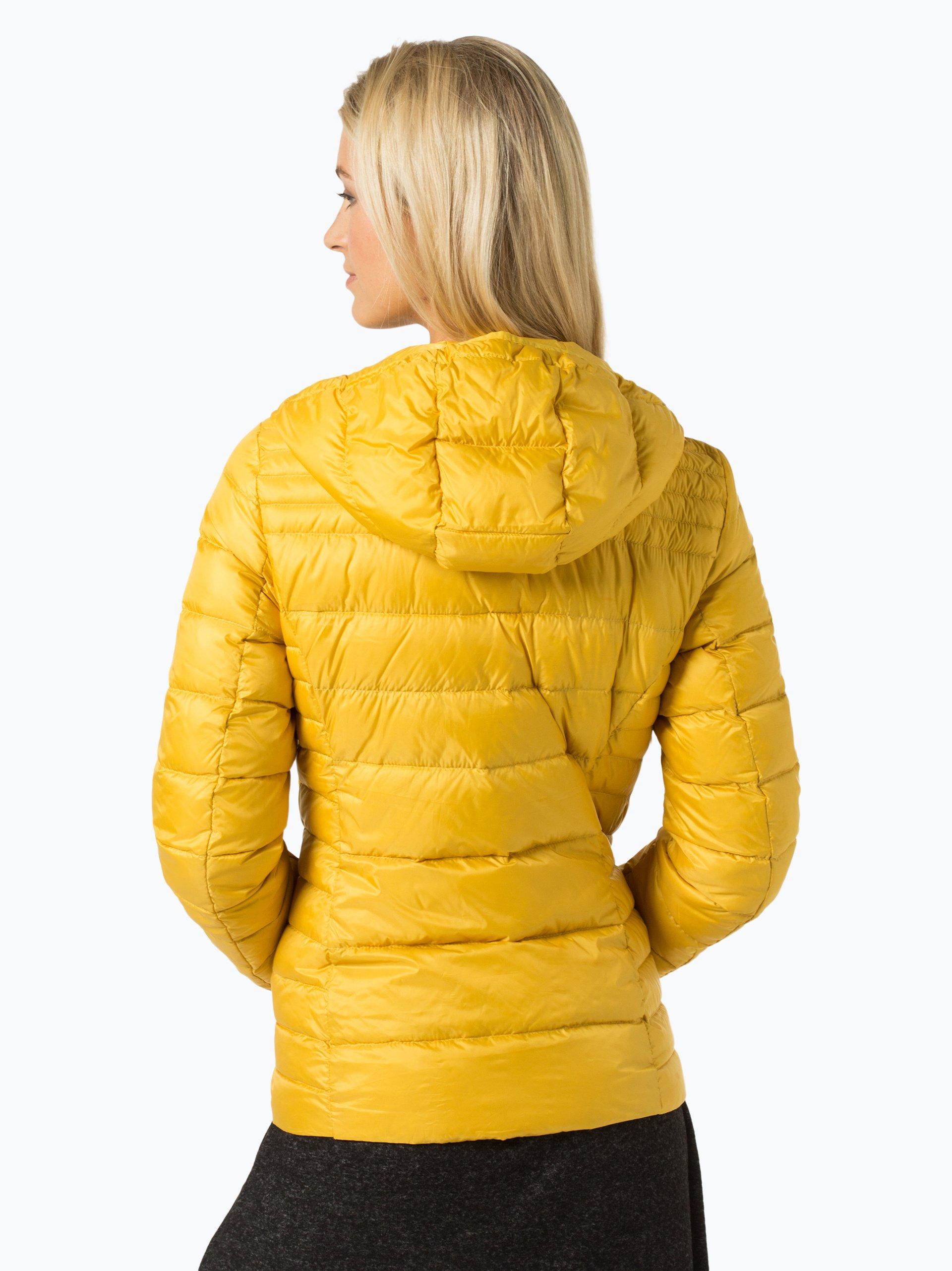 esprit casual damen daunenjacke gelb uni online kaufen. Black Bedroom Furniture Sets. Home Design Ideas