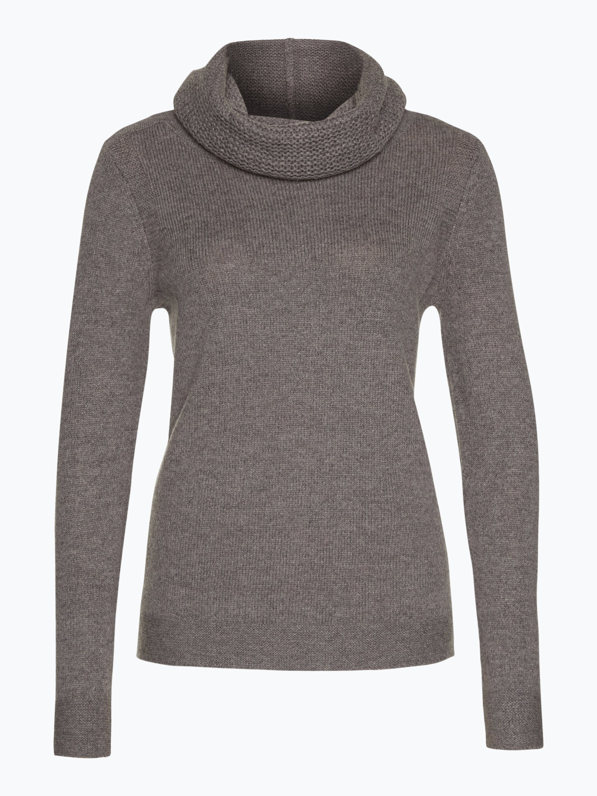 esprit casual damen pullover mit tube schal taupe uni online kaufen peek und cloppenburg de. Black Bedroom Furniture Sets. Home Design Ideas
