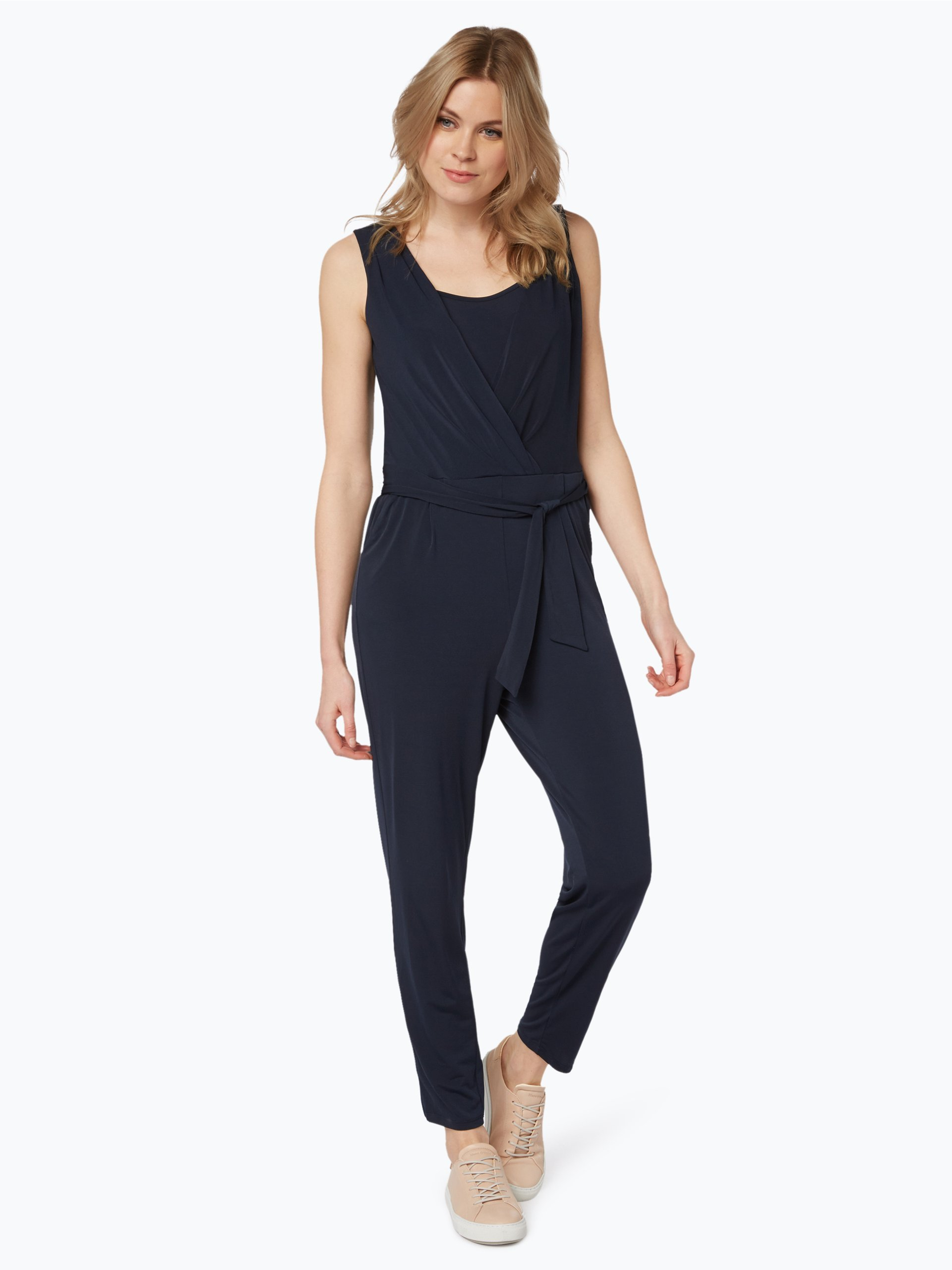 esprit collection damen jumpsuit marine uni online kaufen peek und cloppenburg de. Black Bedroom Furniture Sets. Home Design Ideas