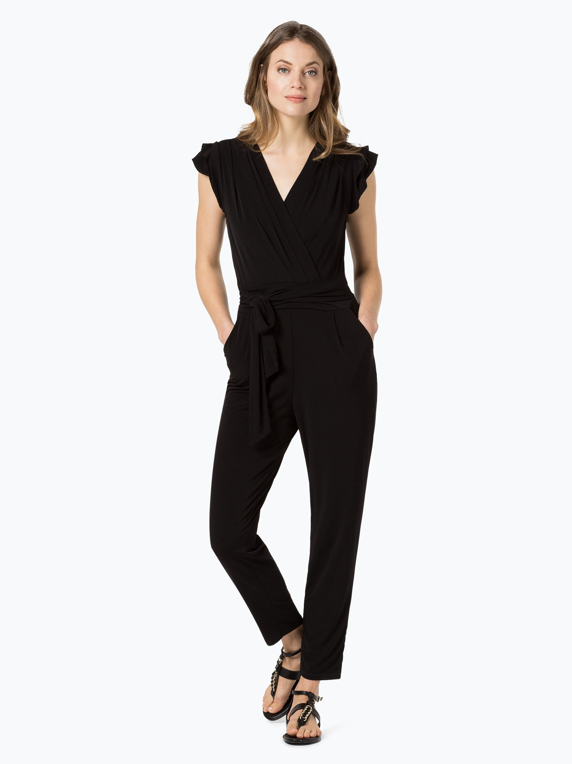 esprit collection damen jumpsuit schwarz uni online kaufen peek und cloppenburg de. Black Bedroom Furniture Sets. Home Design Ideas