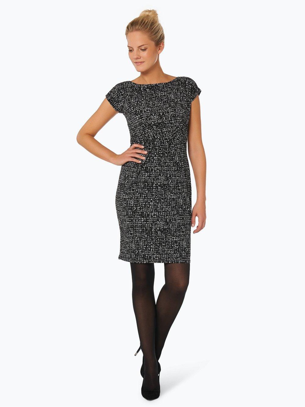 Esprit Collection Damen Kleid schwarz gemustert online kaufen ... b52fff0428