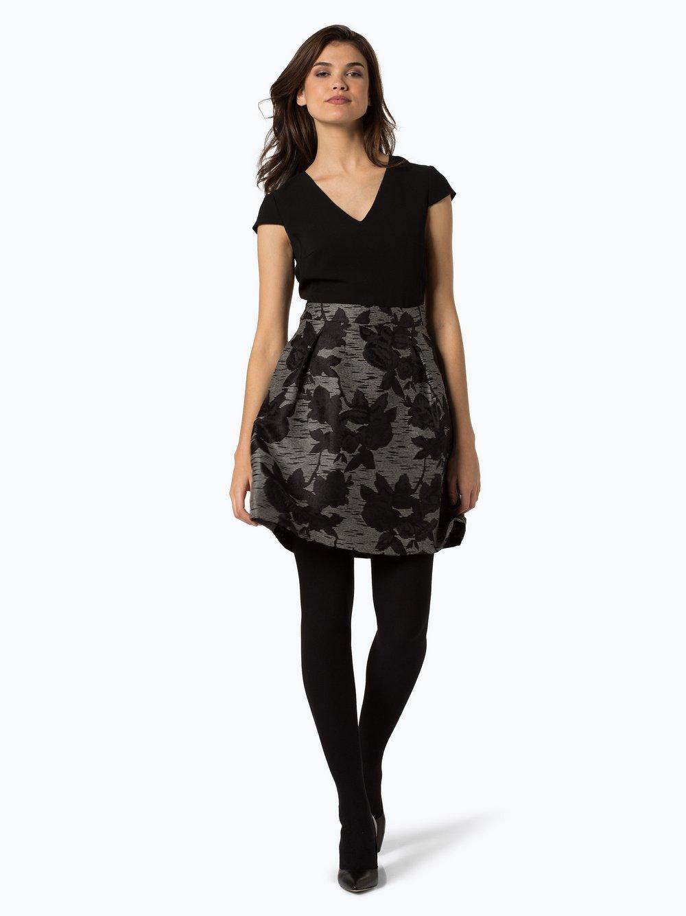 Esprit Collection Damen Kleid schwarz weiß gemustert online kaufen ...