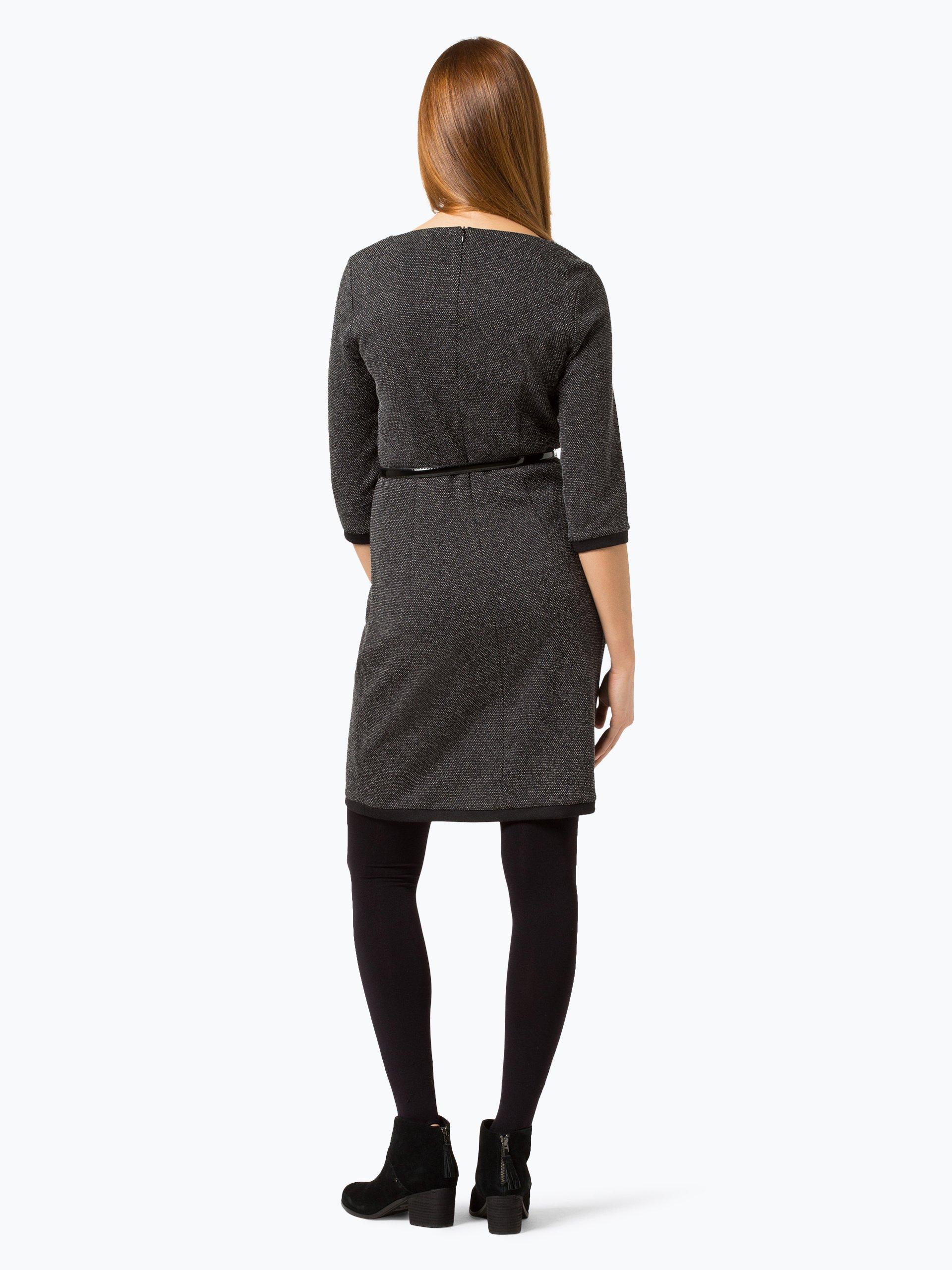 esprit collection damen kleid anthrazit uni online kaufen. Black Bedroom Furniture Sets. Home Design Ideas