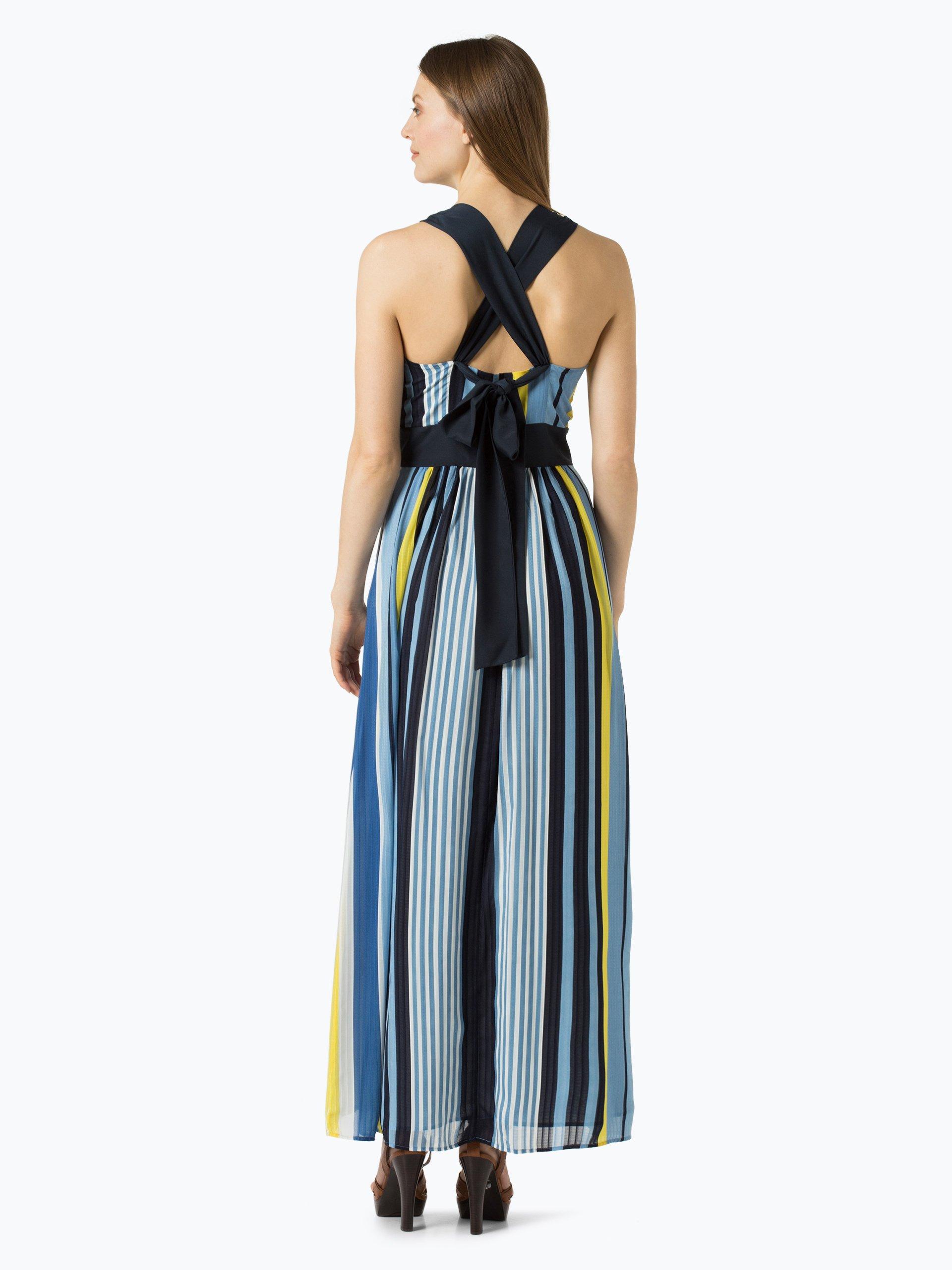 esprit collection damen kleid blau gelb gestreift online kaufen peek und cloppenburg de. Black Bedroom Furniture Sets. Home Design Ideas