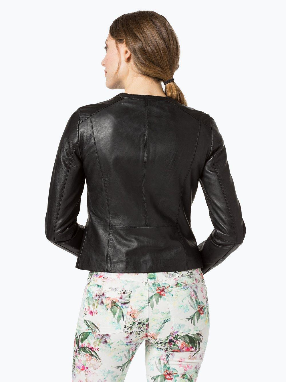 Esprit Collection Damen Esprit Lederjacke Schwarz Online