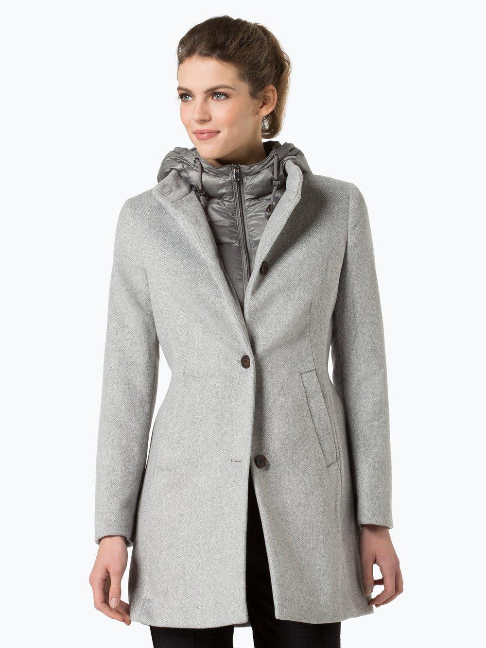 best service b0c45 aa3d5 Esprit Mantel Grau Wolle