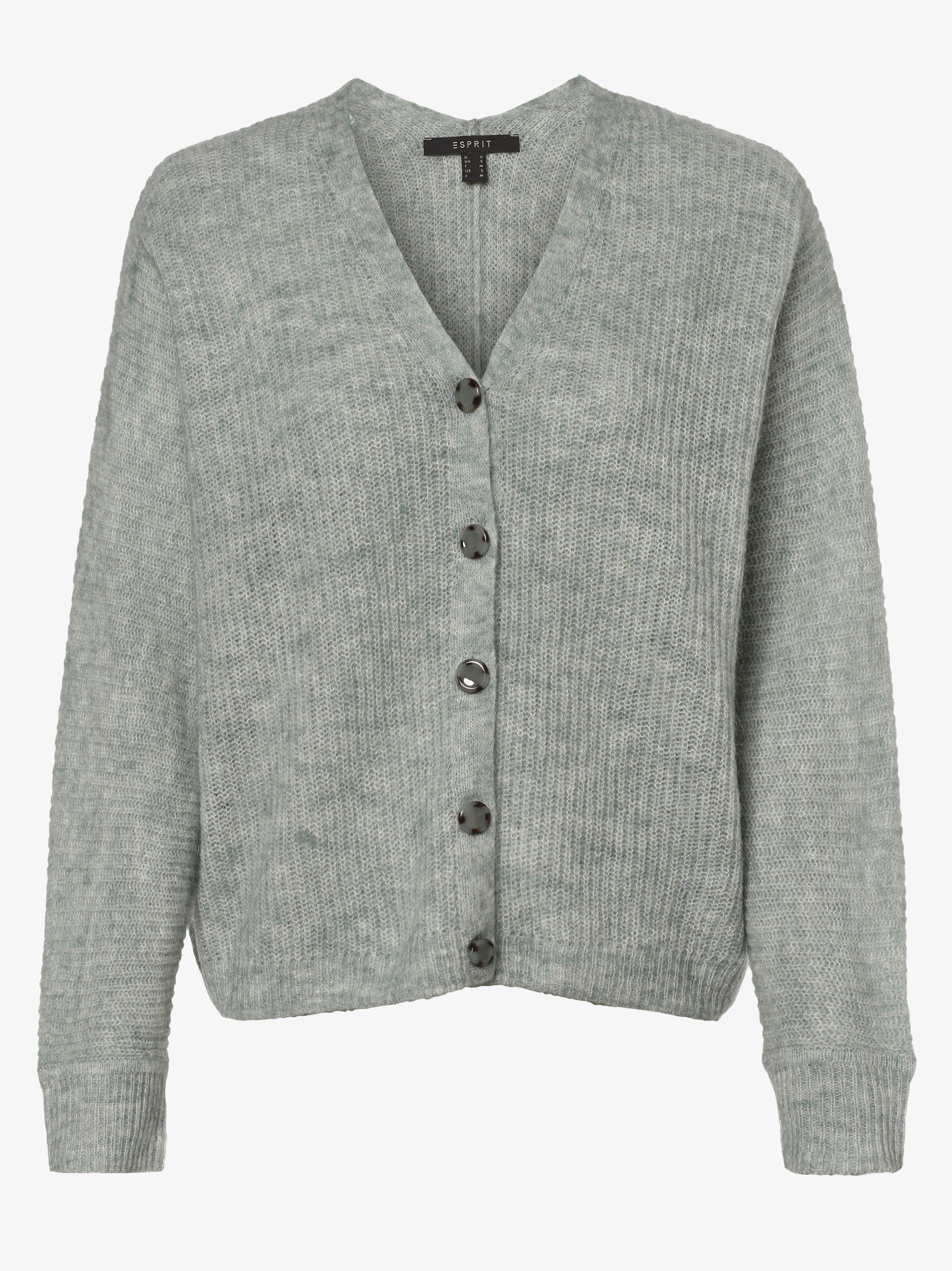 Esprit Collection Damen Strickjacke mit Alpaka-Anteil