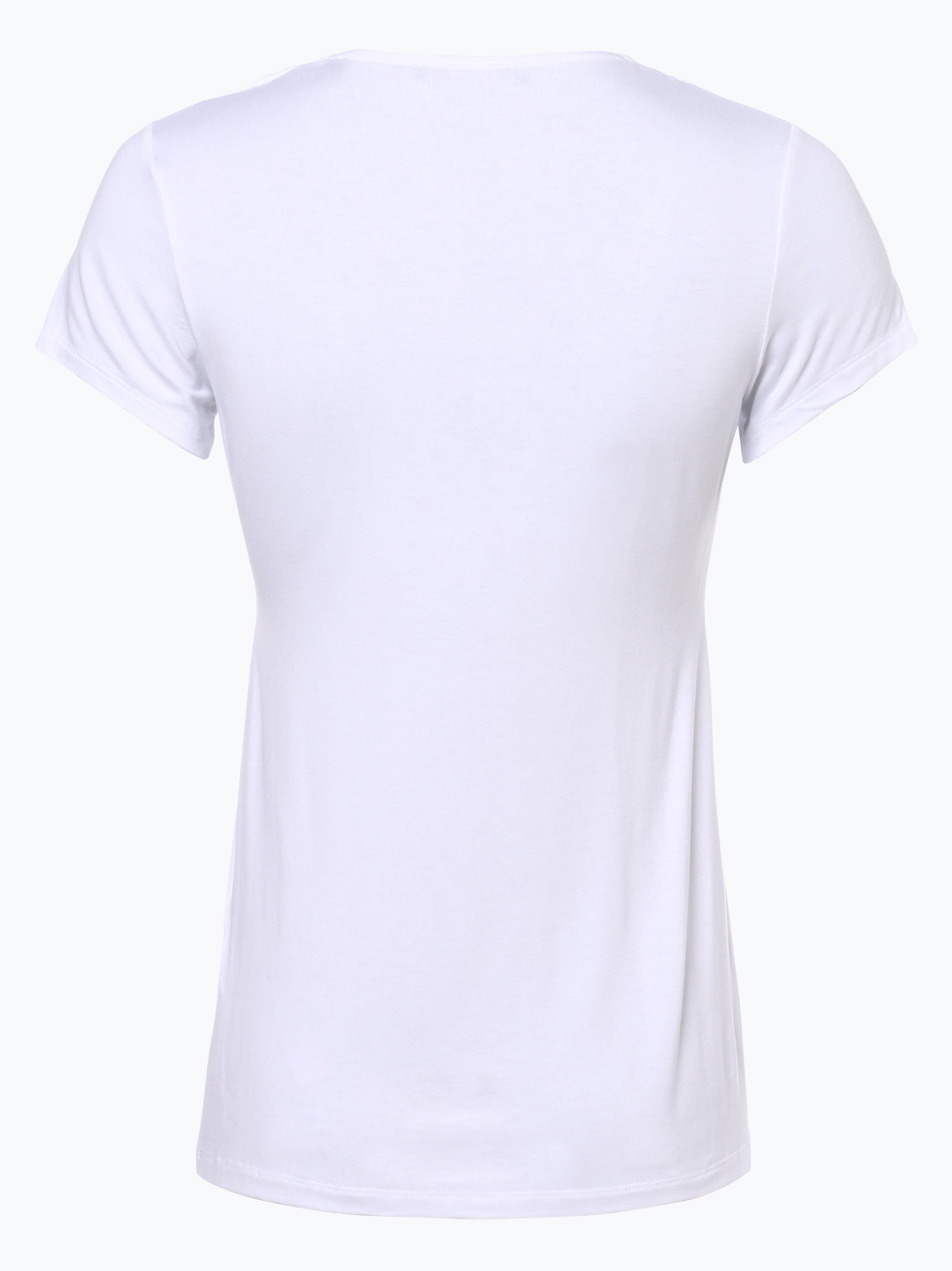 esprit collection damen t shirt wei uni online kaufen. Black Bedroom Furniture Sets. Home Design Ideas