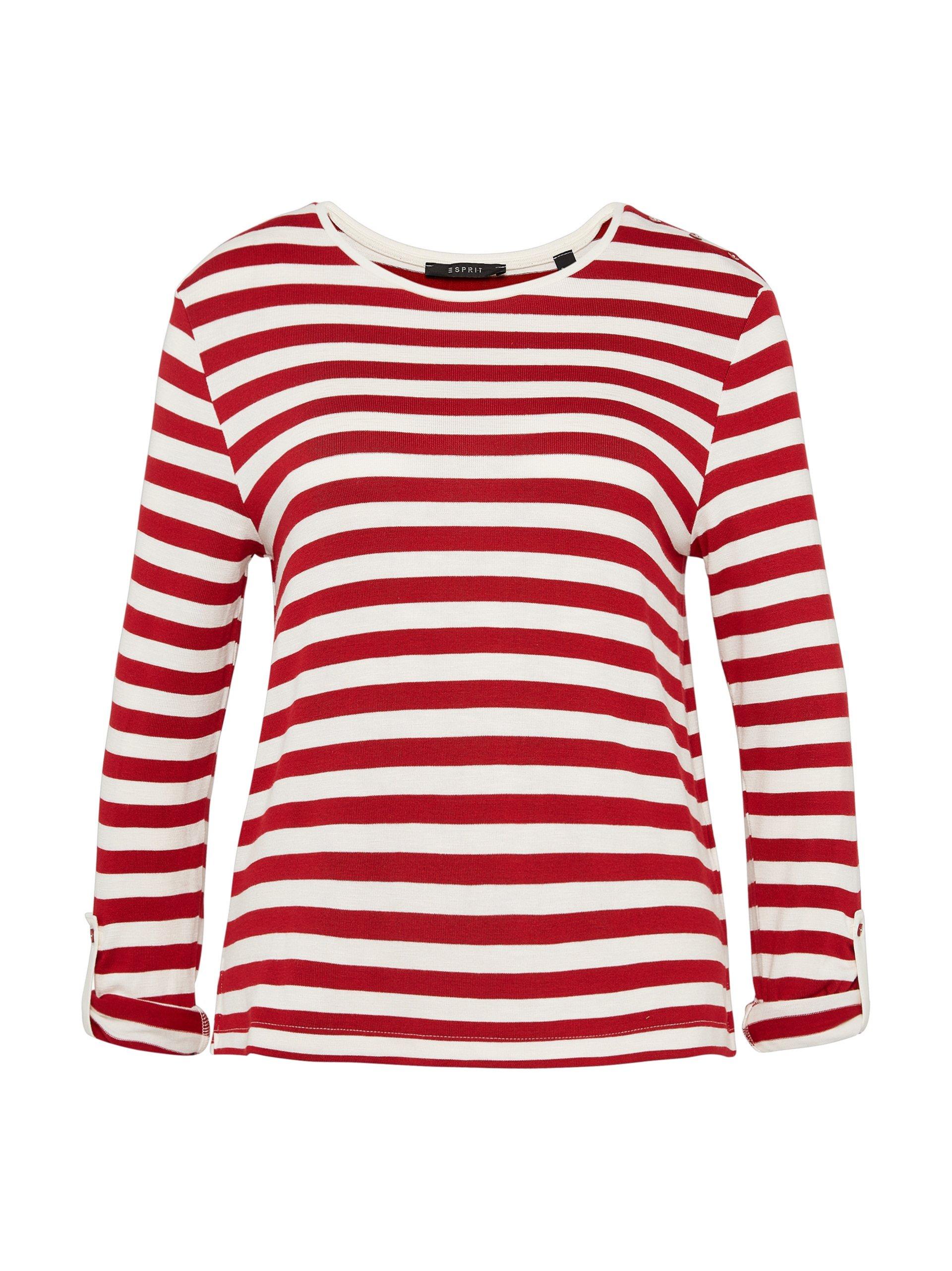 Esprit Collection Damska koszulka z długim rękawem