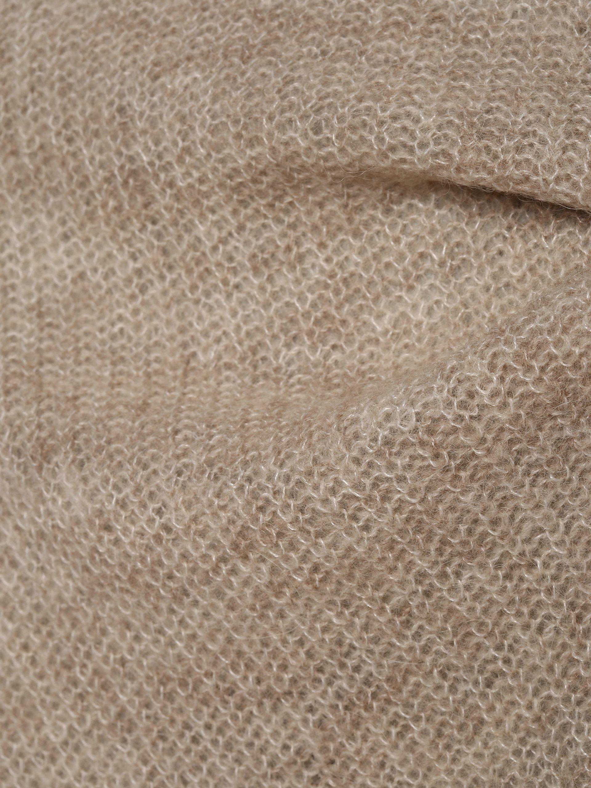 Esprit Collection Dzianinowe wdzianko damskie z dodatkiem alpaki