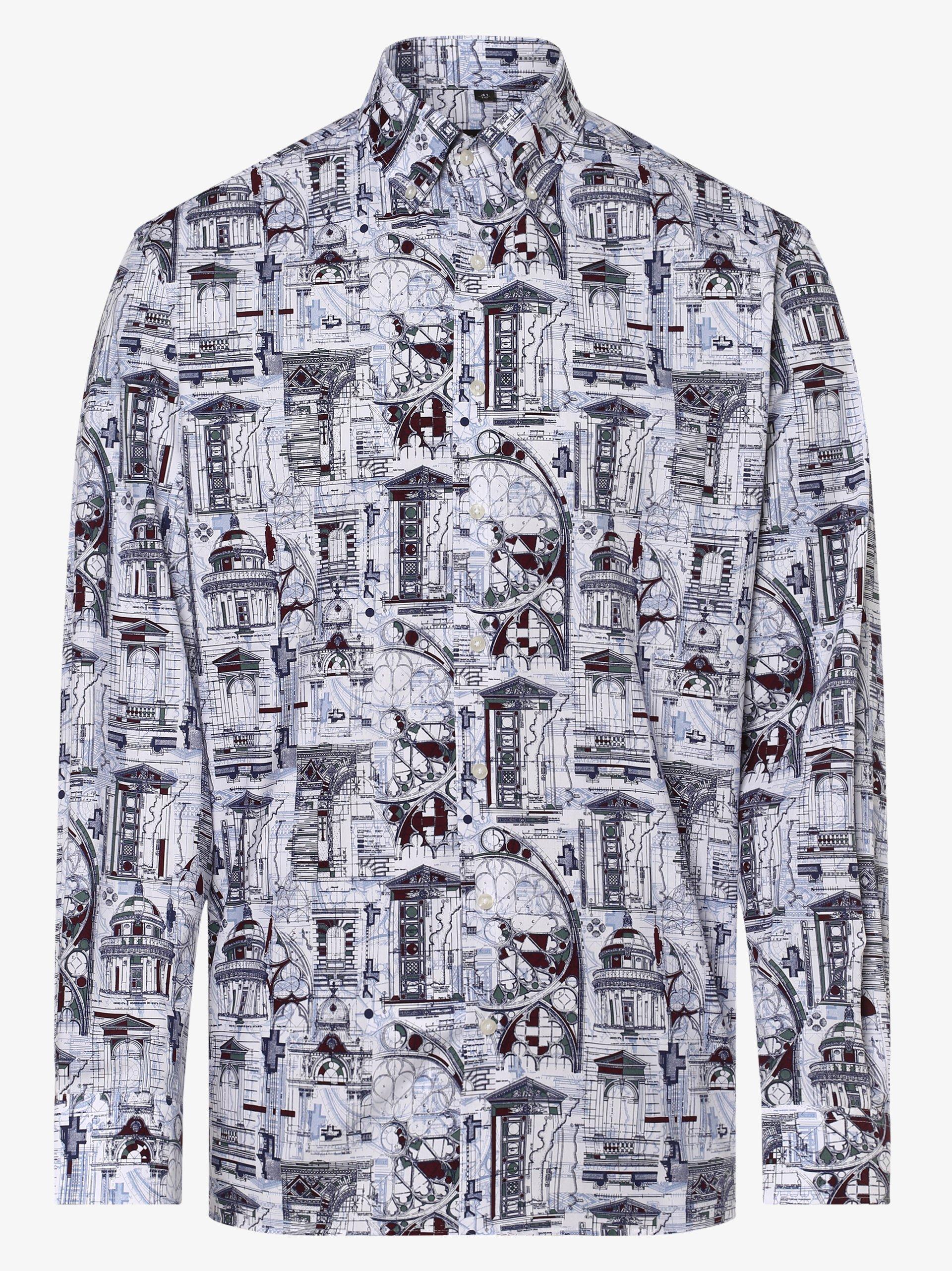 Eterna Comfort Fit Koszula męska łatwa w prasowaniu