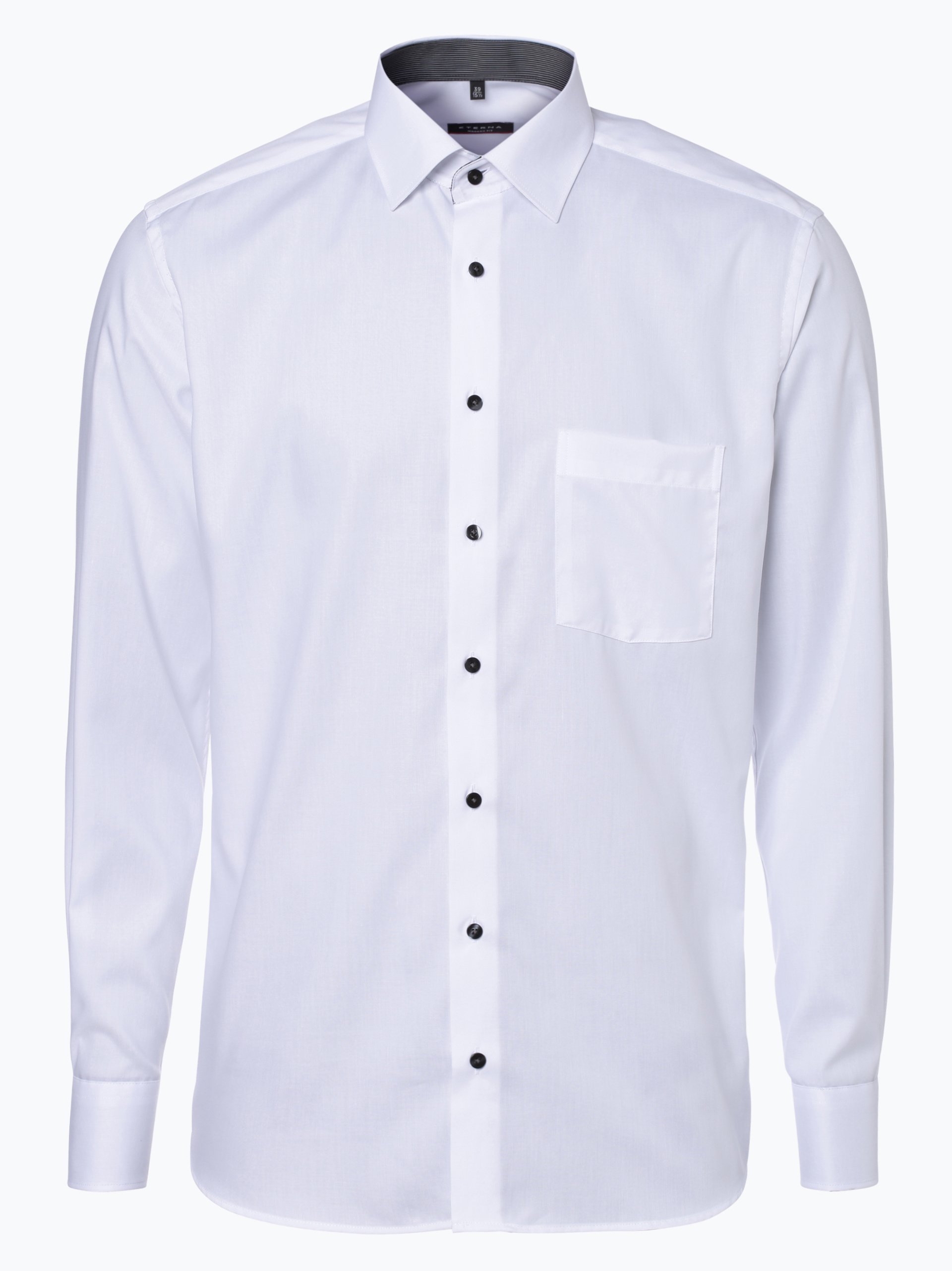 Eterna Modern Fit Herren Hemd Bügelfrei