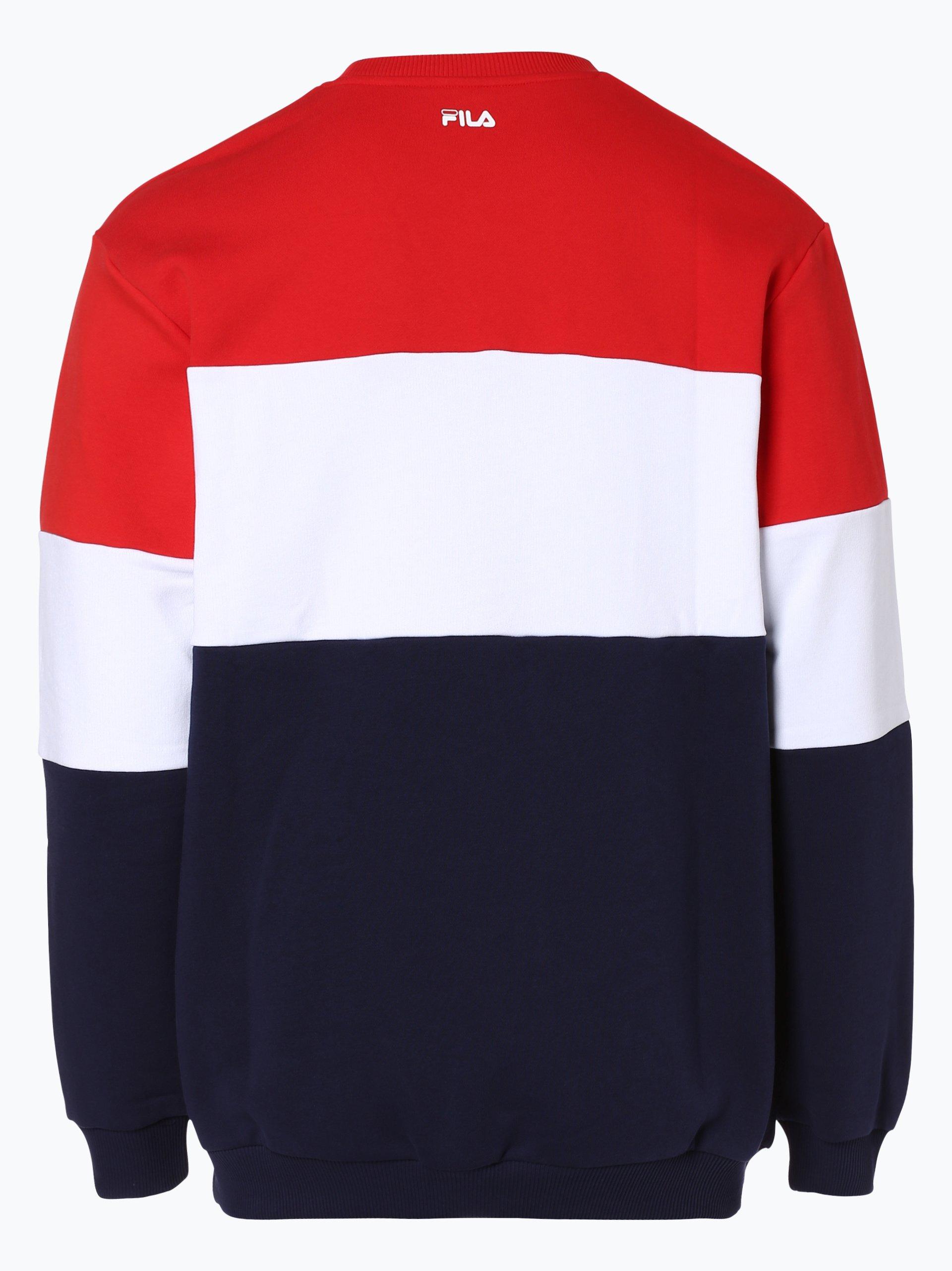fila herren sweatshirt rot gestreift online kaufen. Black Bedroom Furniture Sets. Home Design Ideas