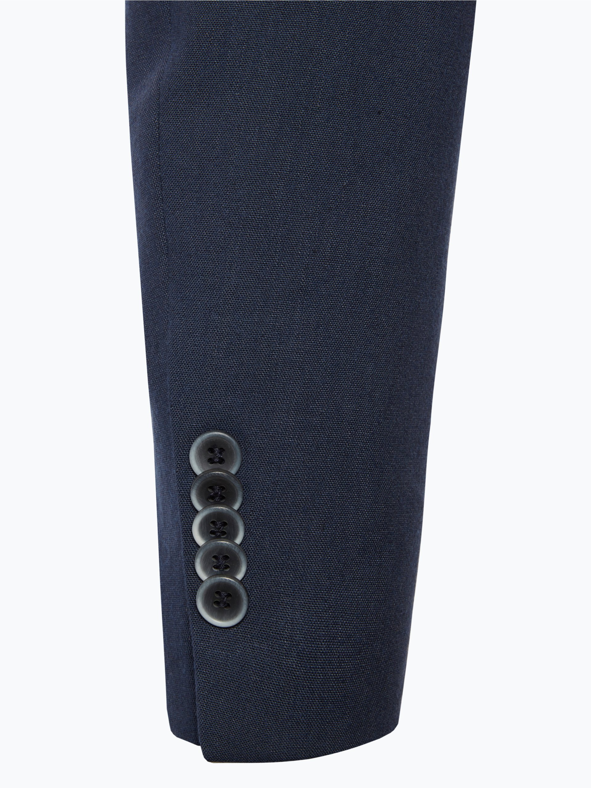 finshley harding herren anzug mit leinen anteil black. Black Bedroom Furniture Sets. Home Design Ideas