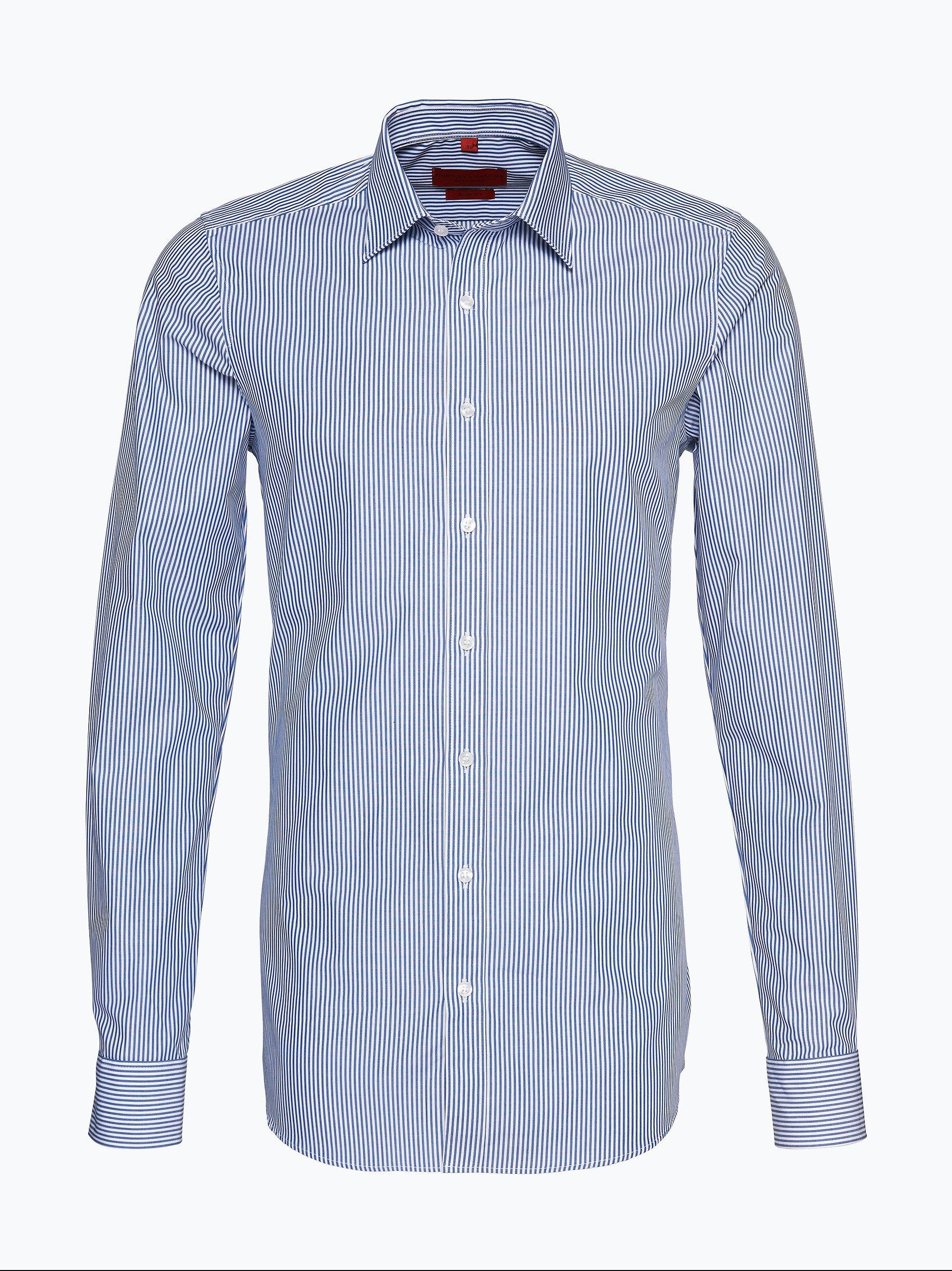 Finshley & Harding Herren Hemd mit extralangen Ärmeln