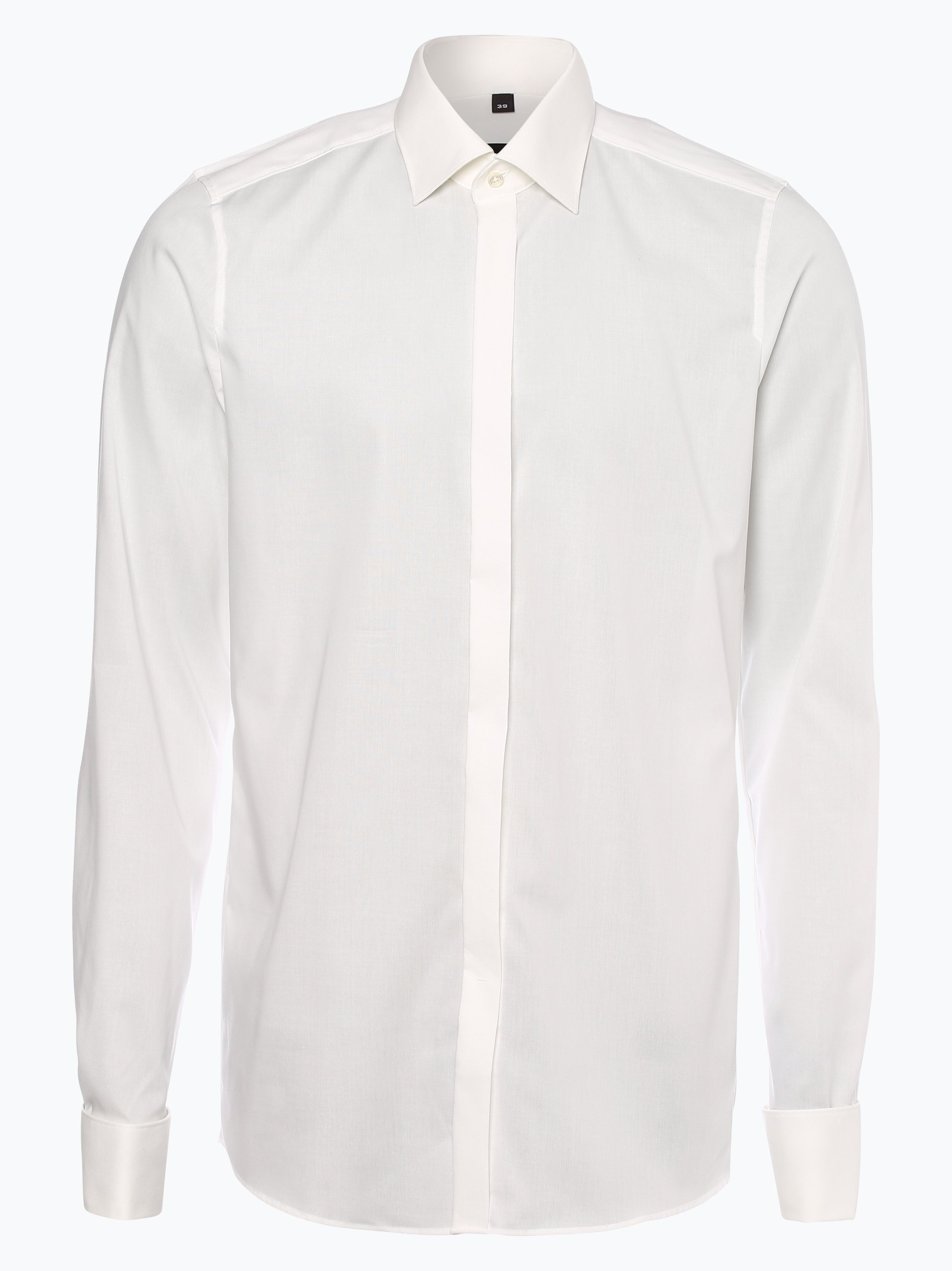 Finshley & Harding Herren Hemd mit Umschlagmanschetten - Extralange Ärmel