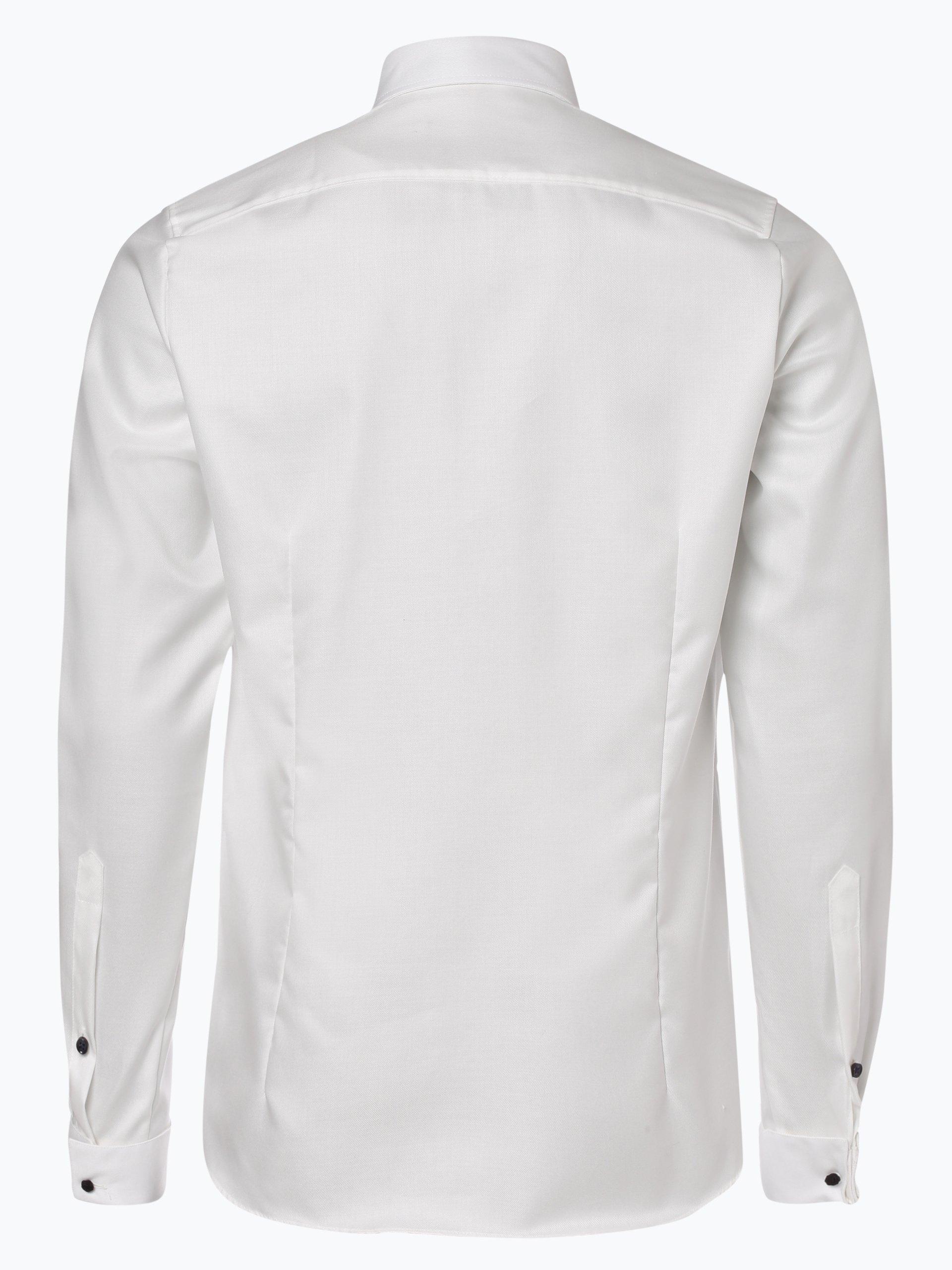 Finshley & Harding Herren Hemd Two Ply mit Umschlagmanschetten - Bügelfrei