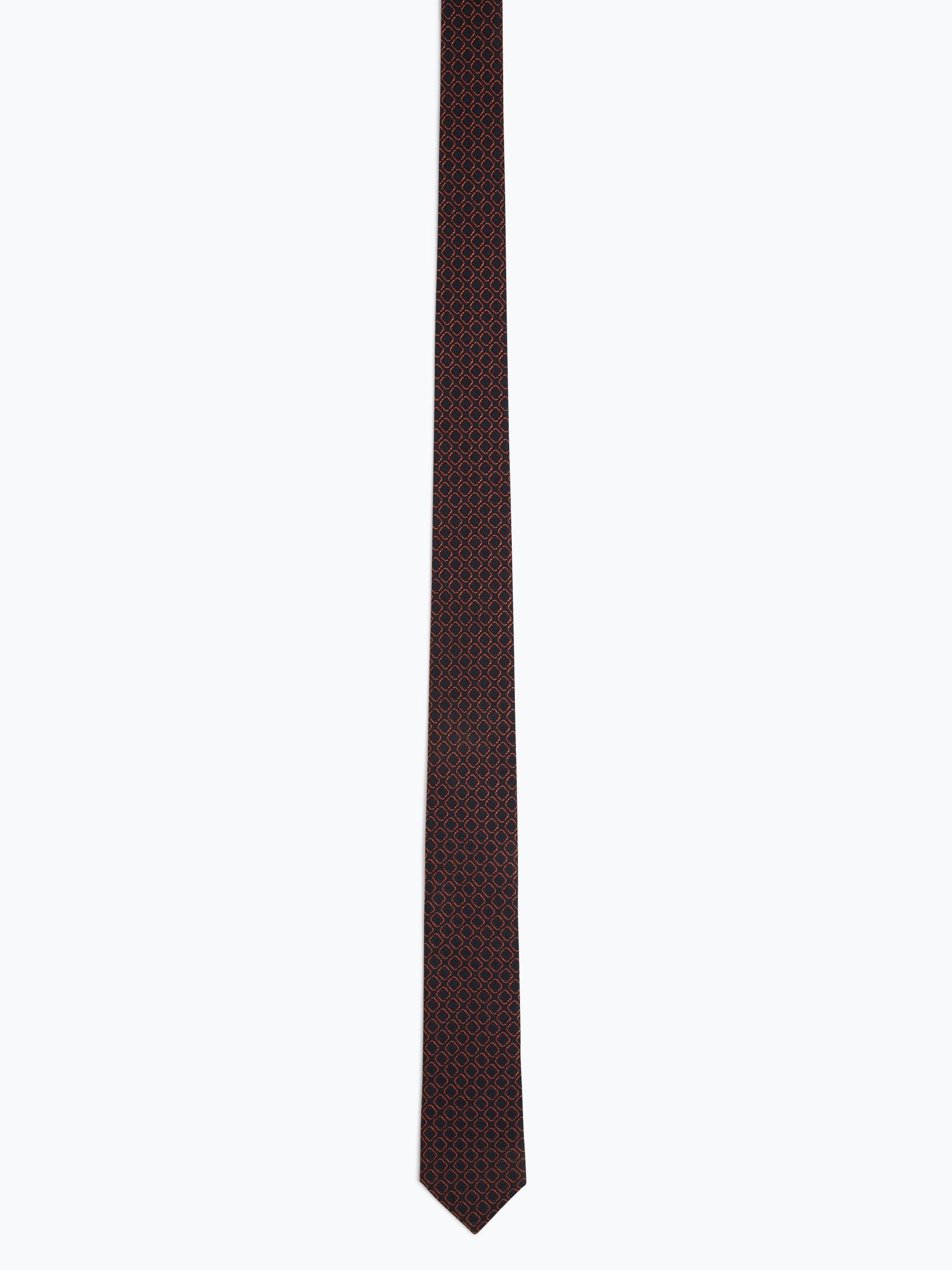 Finshley & Harding Herren Krawatte mit Seiden-Anteil