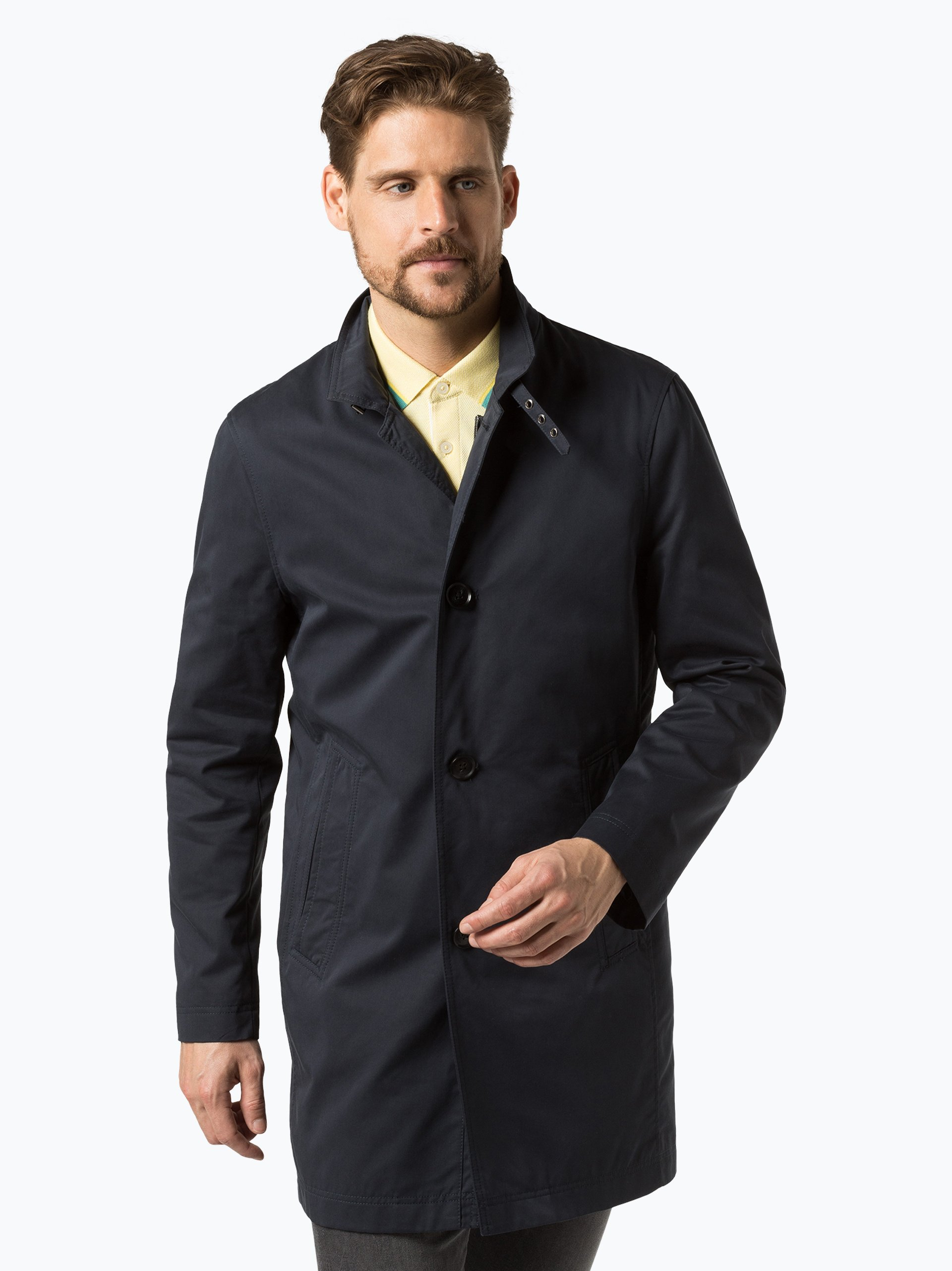 Finshley & Harding Herren Mantel - Black Label