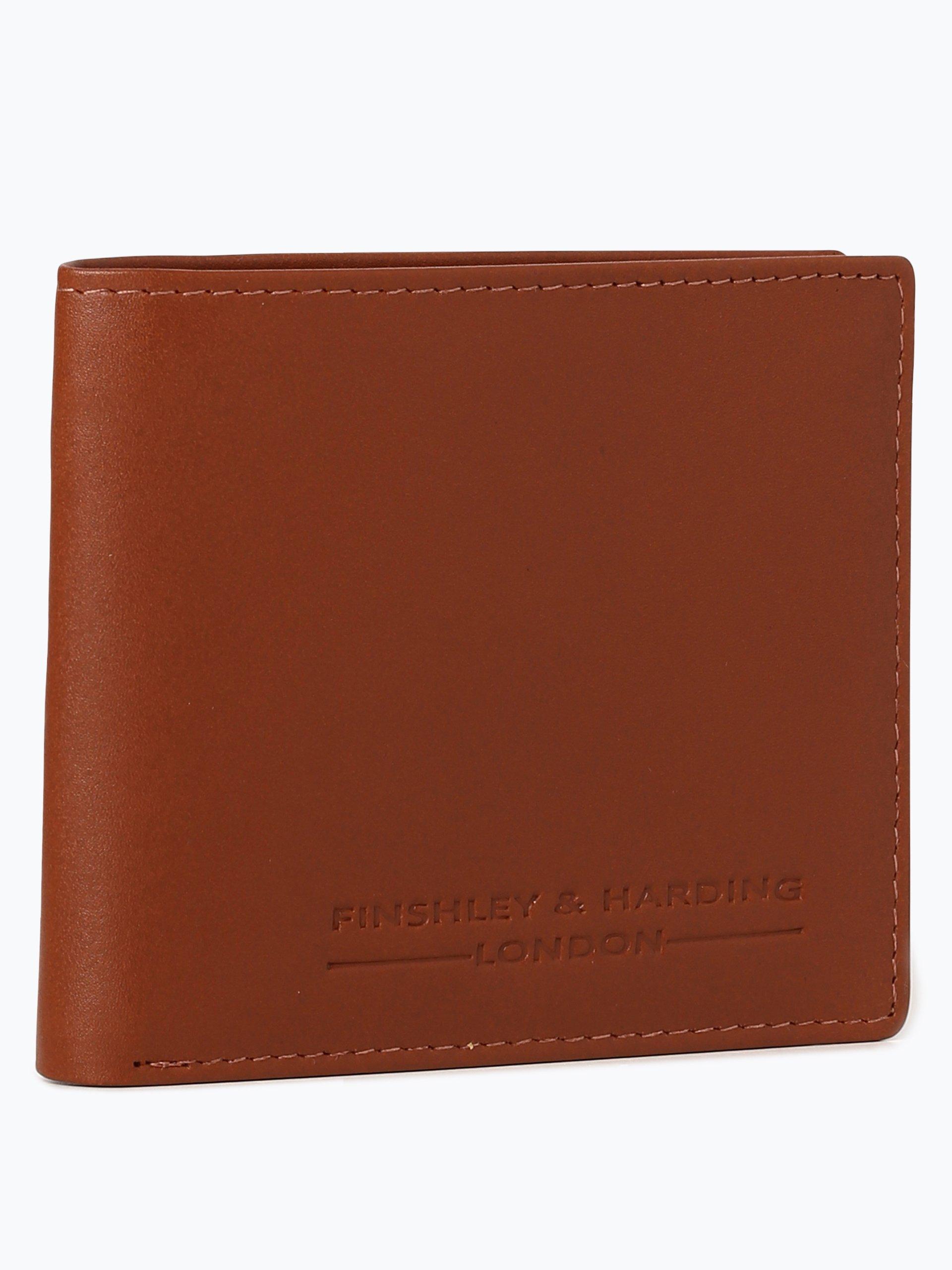 Finshley & Harding London Herren Geldbörse aus Leder - Westminster