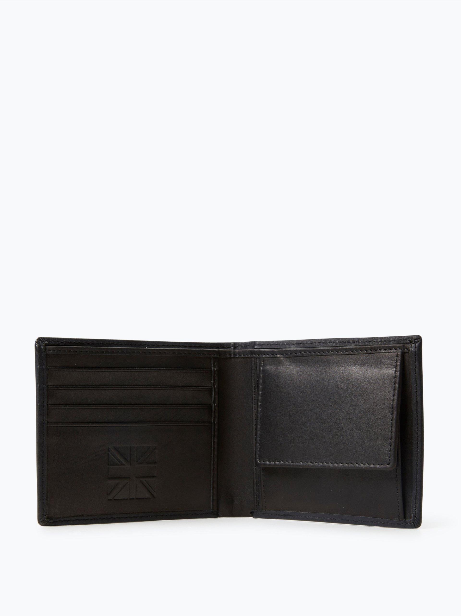 Finshley & Harding London Herren Geldbörse aus Leder