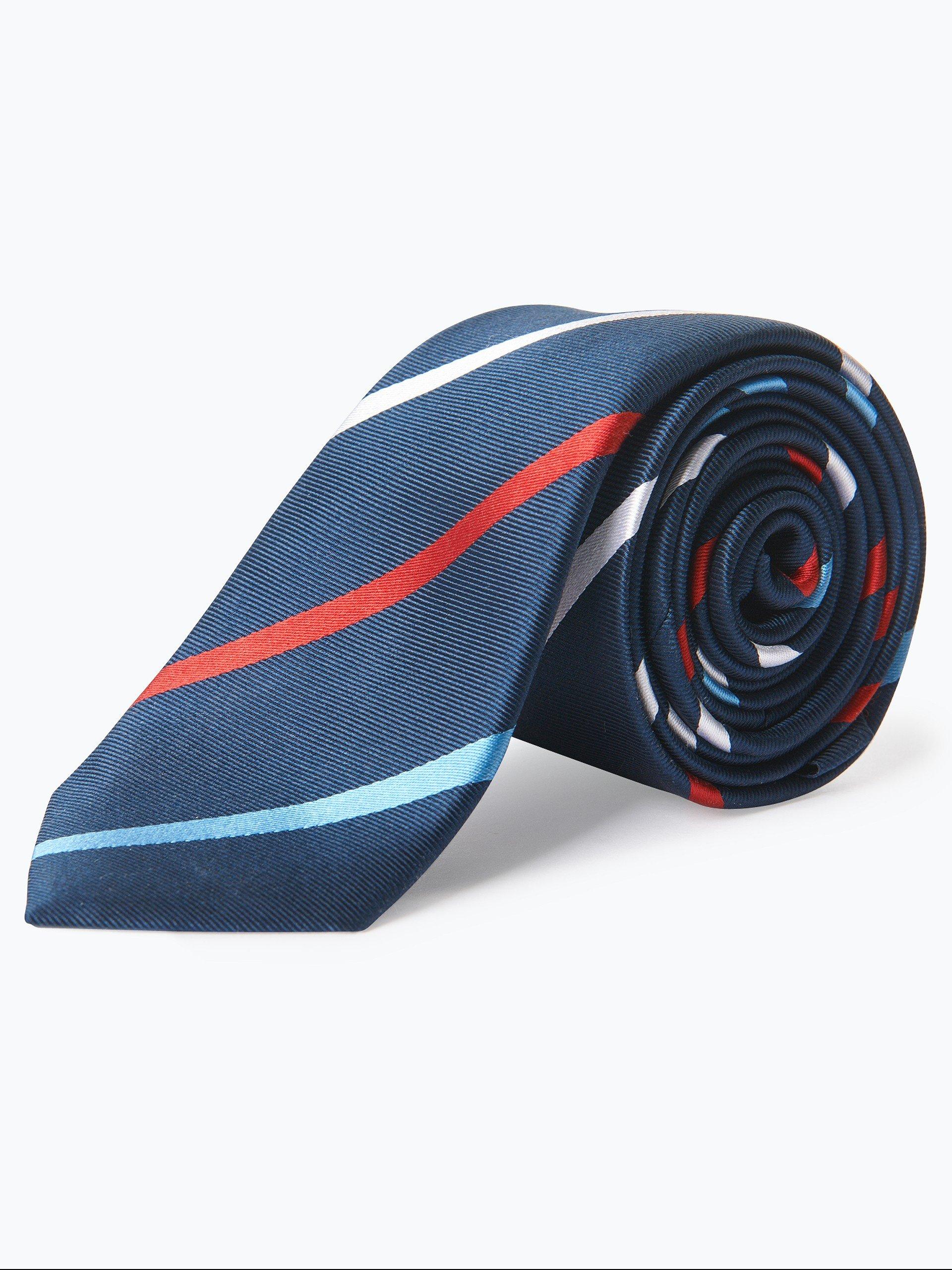 finshley harding london herren krawatte und einstecktuch aus seide 2 online kaufen peek. Black Bedroom Furniture Sets. Home Design Ideas