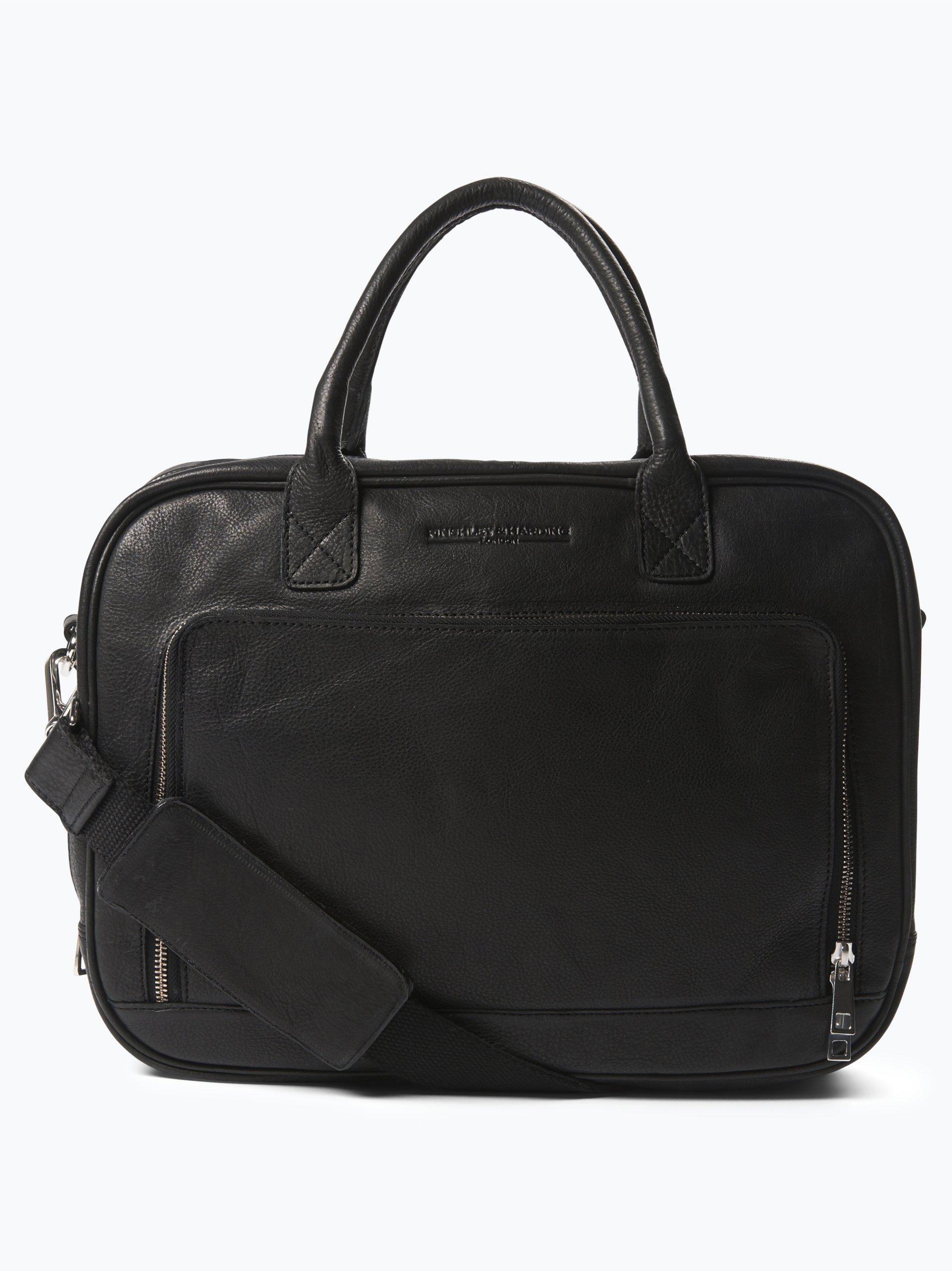 finshley harding london herren laptop tasche aus leder online kaufen vangraaf com. Black Bedroom Furniture Sets. Home Design Ideas
