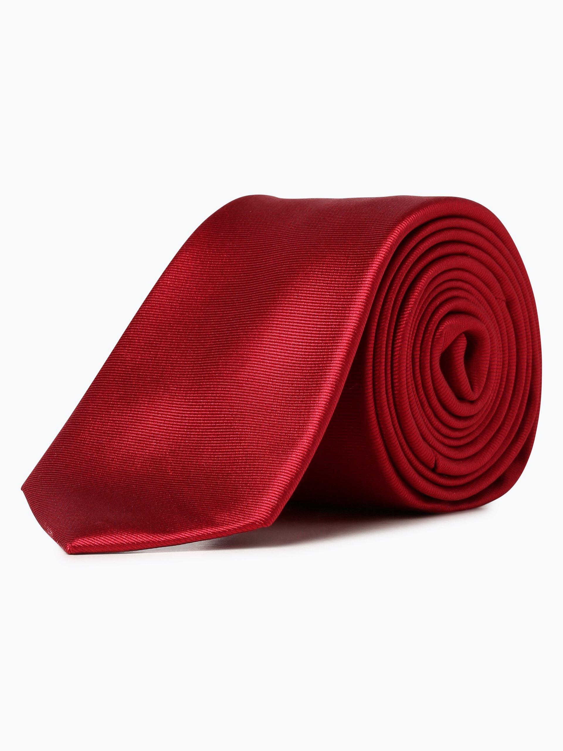 Finshley & Harding London Herren Seidenkrawatte mit Krawattenklammer