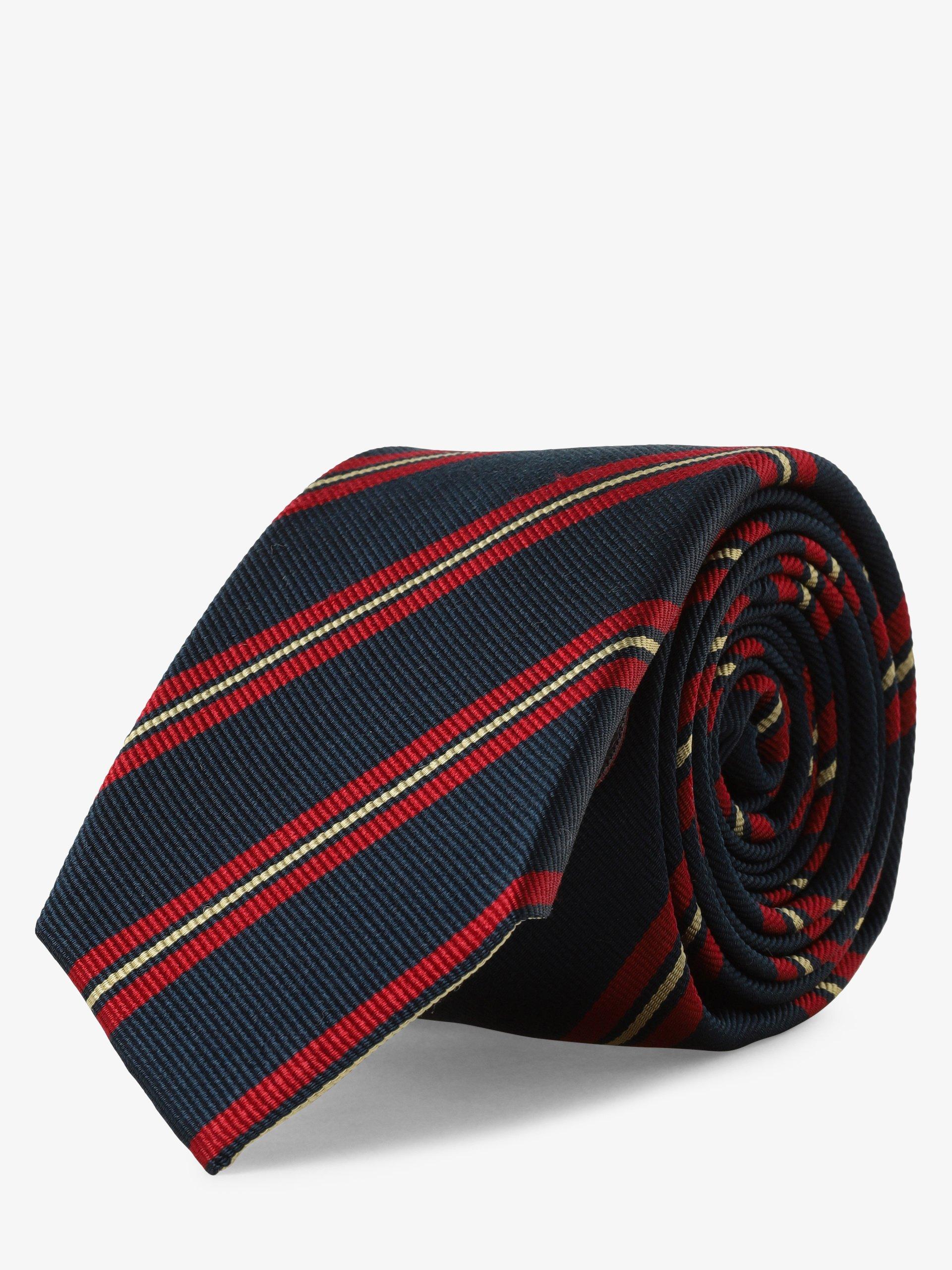 Finshley & Harding London Krawat jedwabny męski
