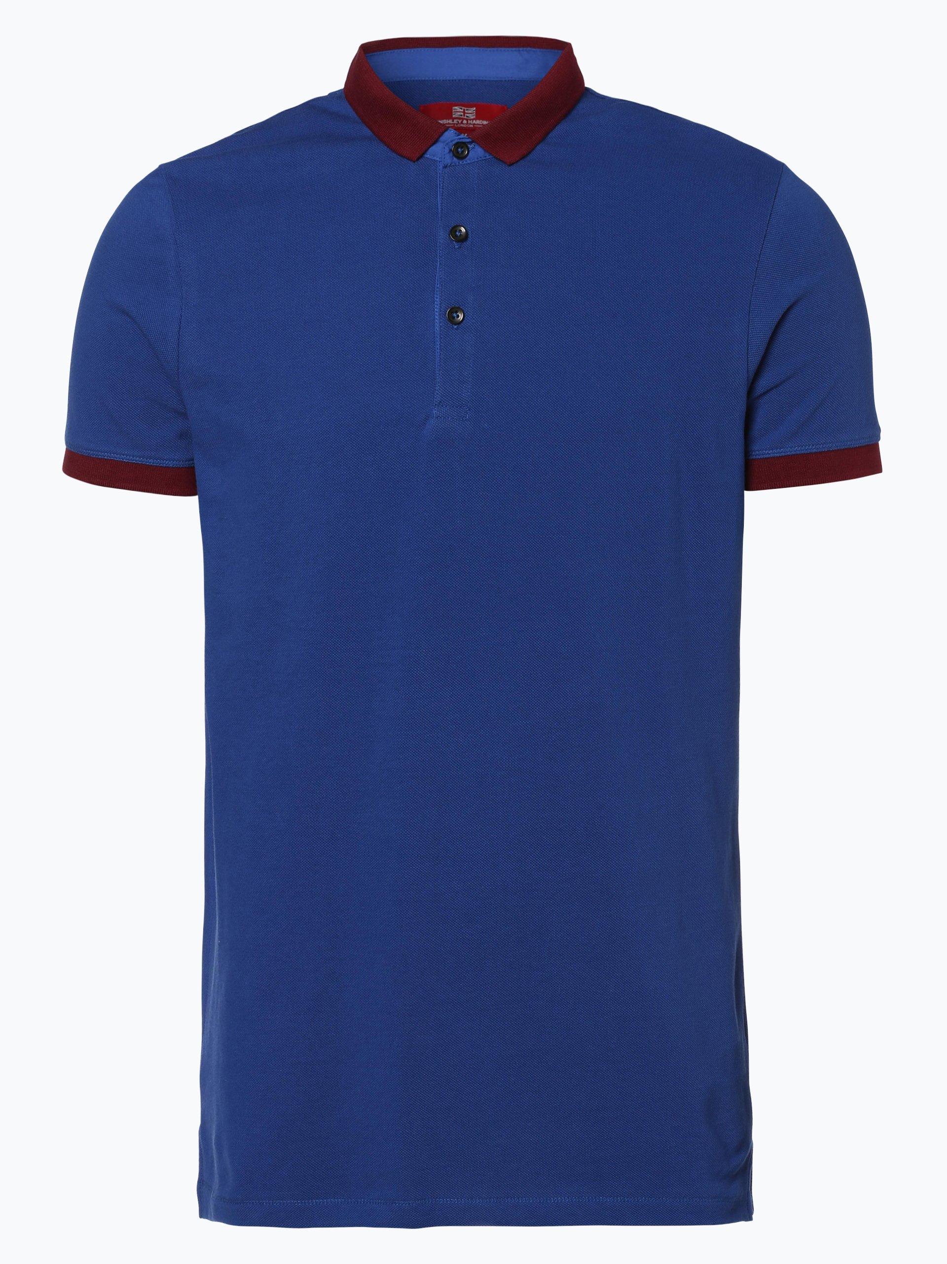 Finshley & Harding London Męska koszulka polo