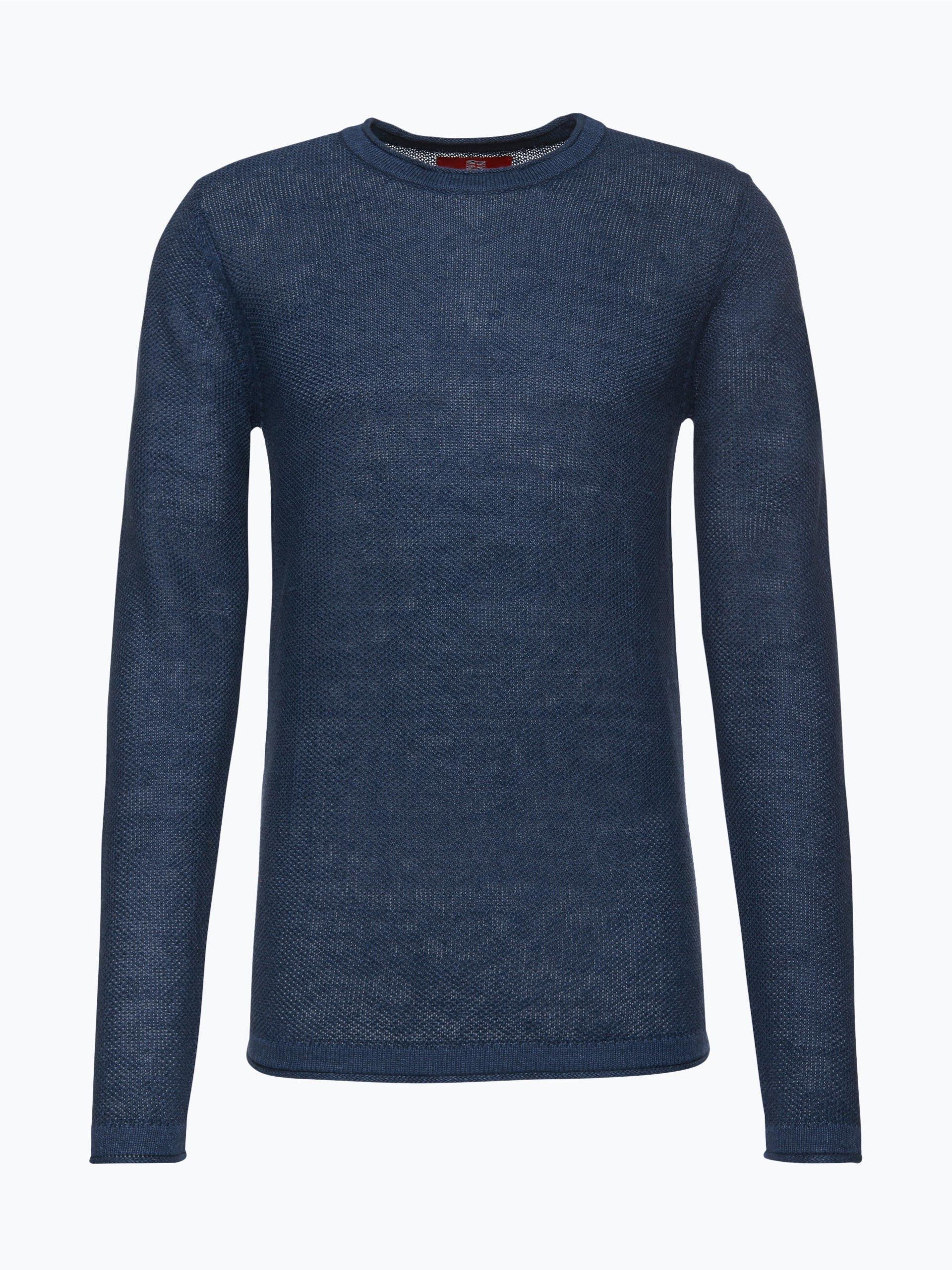 Finshley & Harding London Męski sweter z lnu