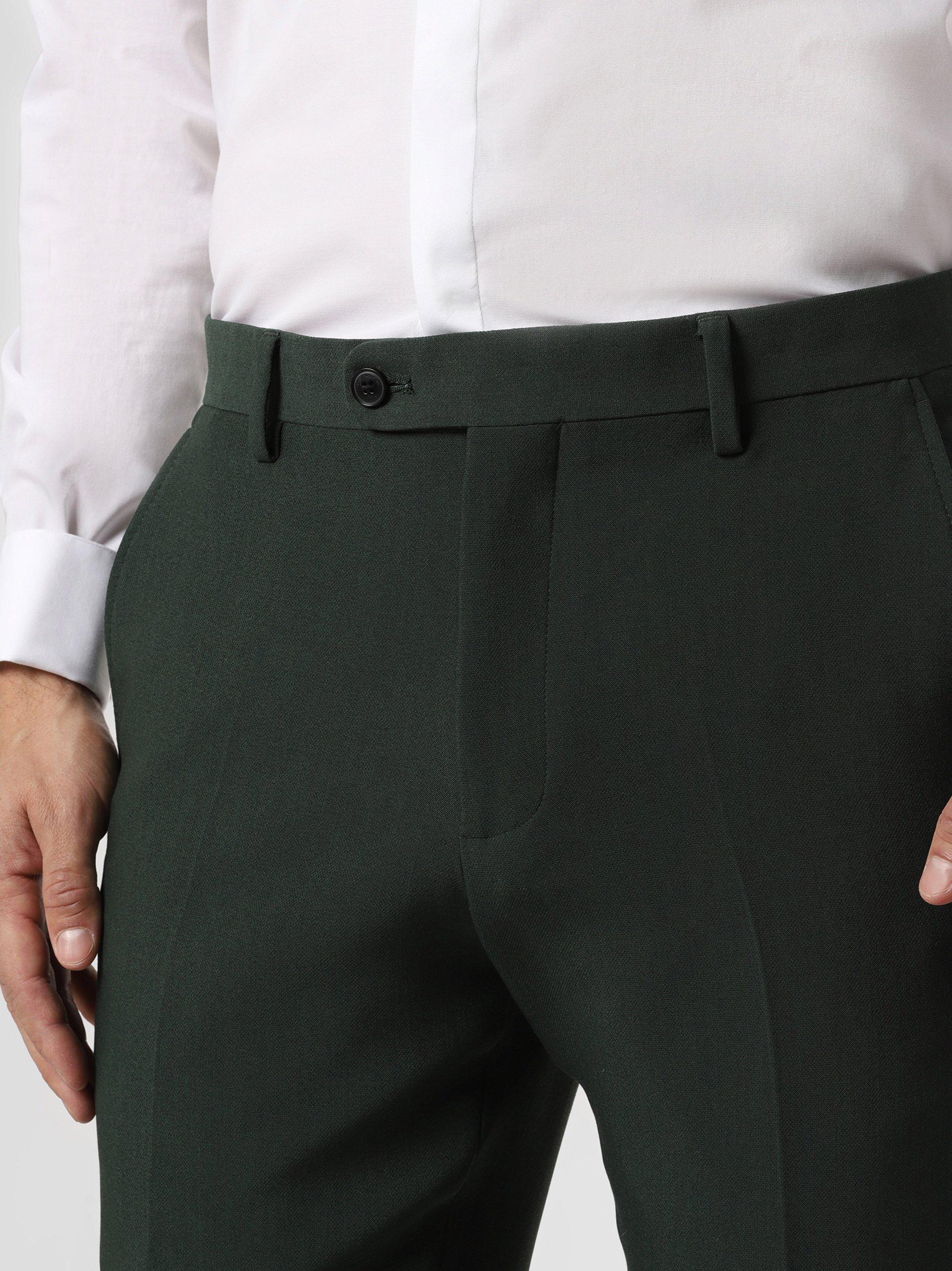 Finshley & Harding London Męskie spodnie od garnituru modułowego – Grant