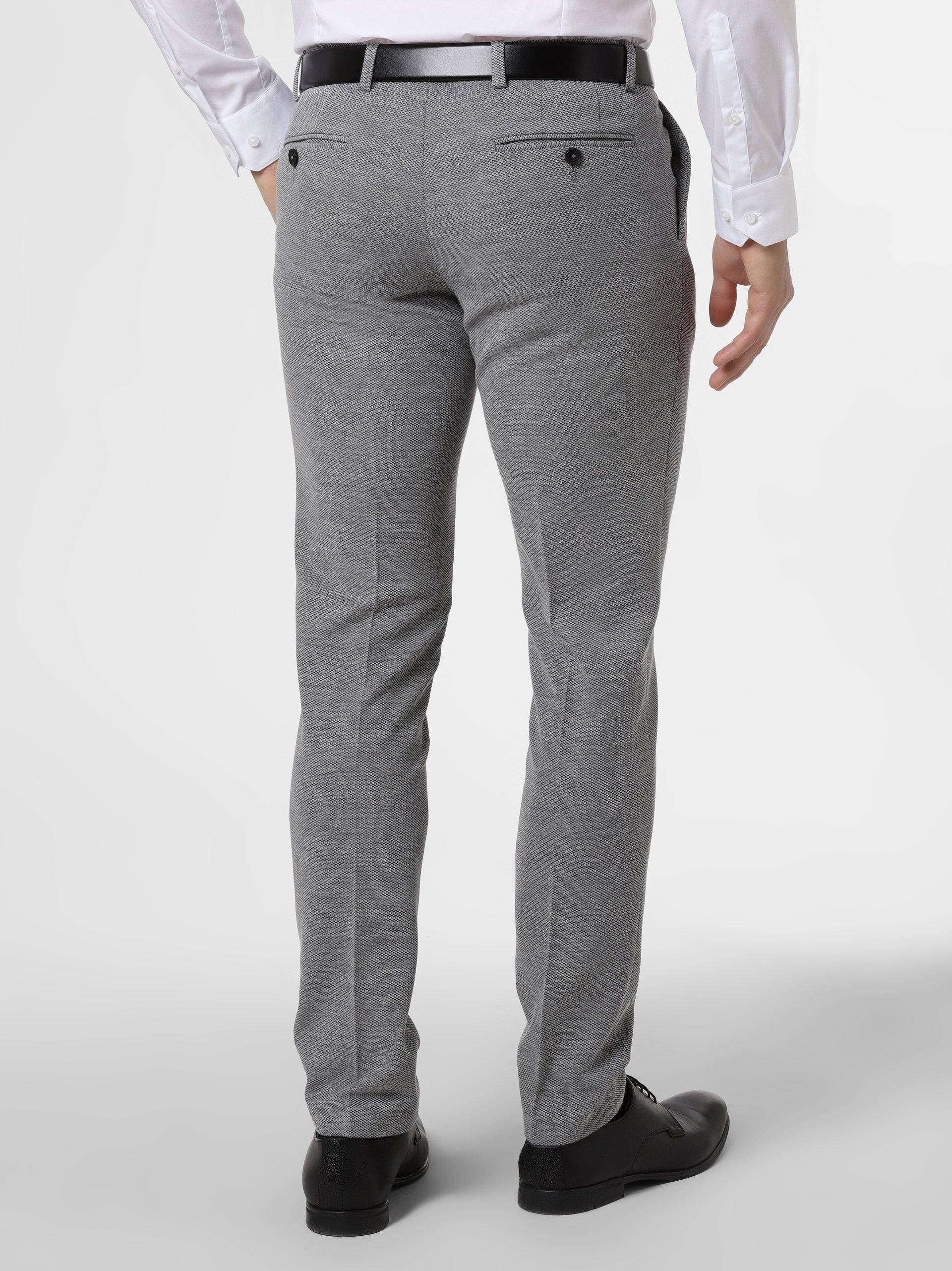 Finshley & Harding London Męskie spodnie od garnituru modułowego – Hudson