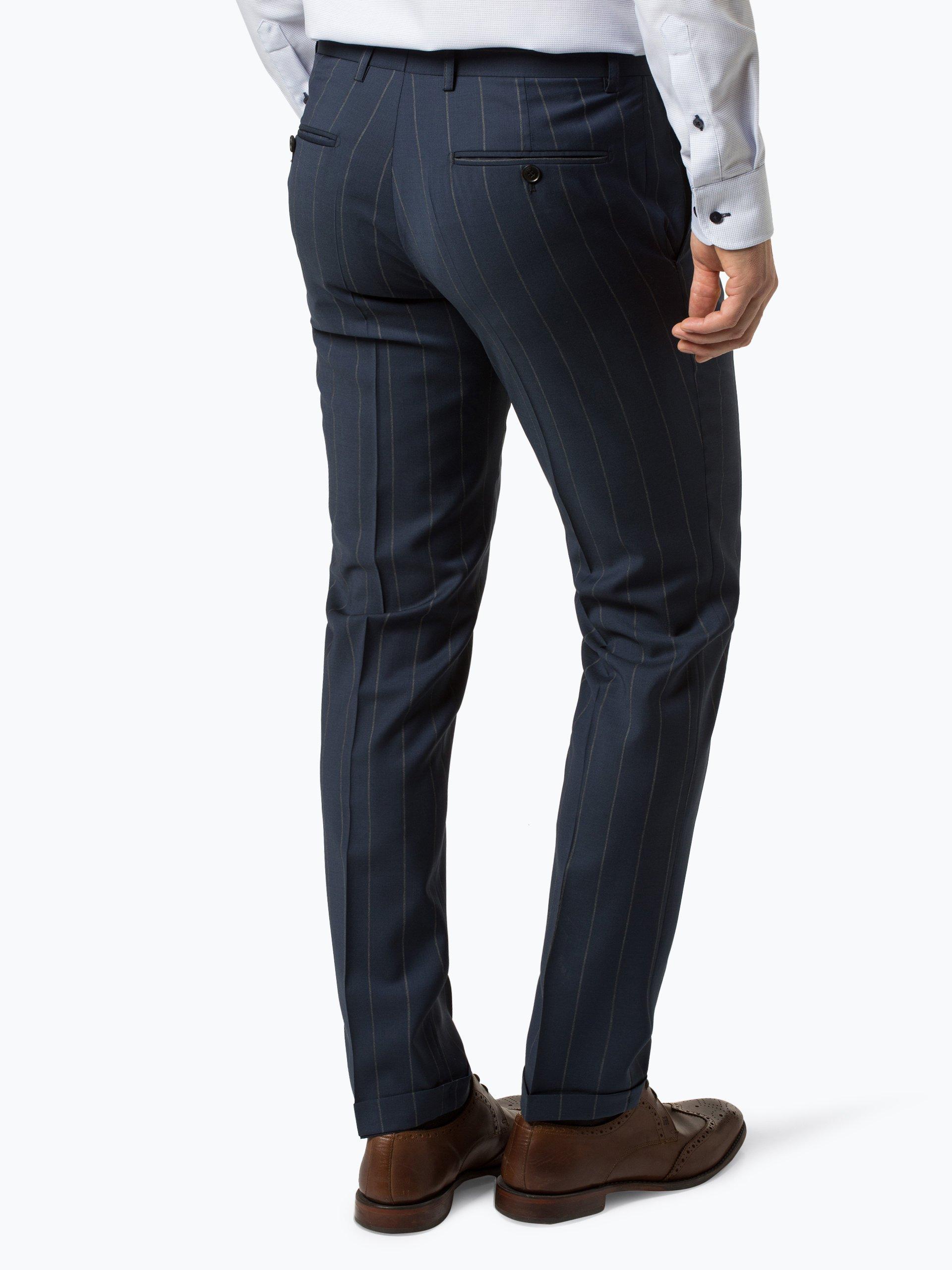 Finshley & Harding London Męskie spodnie od garnituru modułowego – Verso