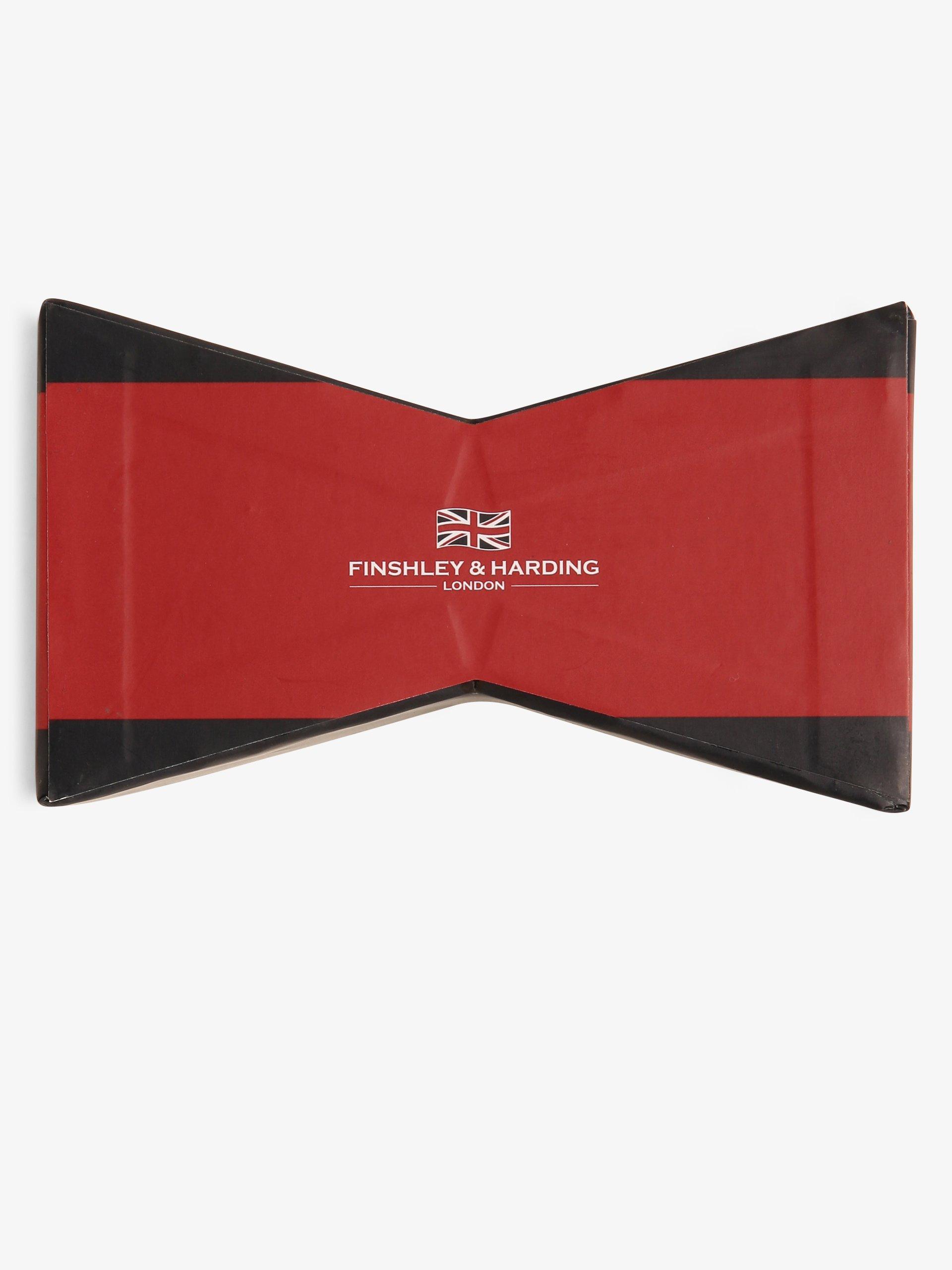 Finshley & Harding London Muszka męska z jedwabiu
