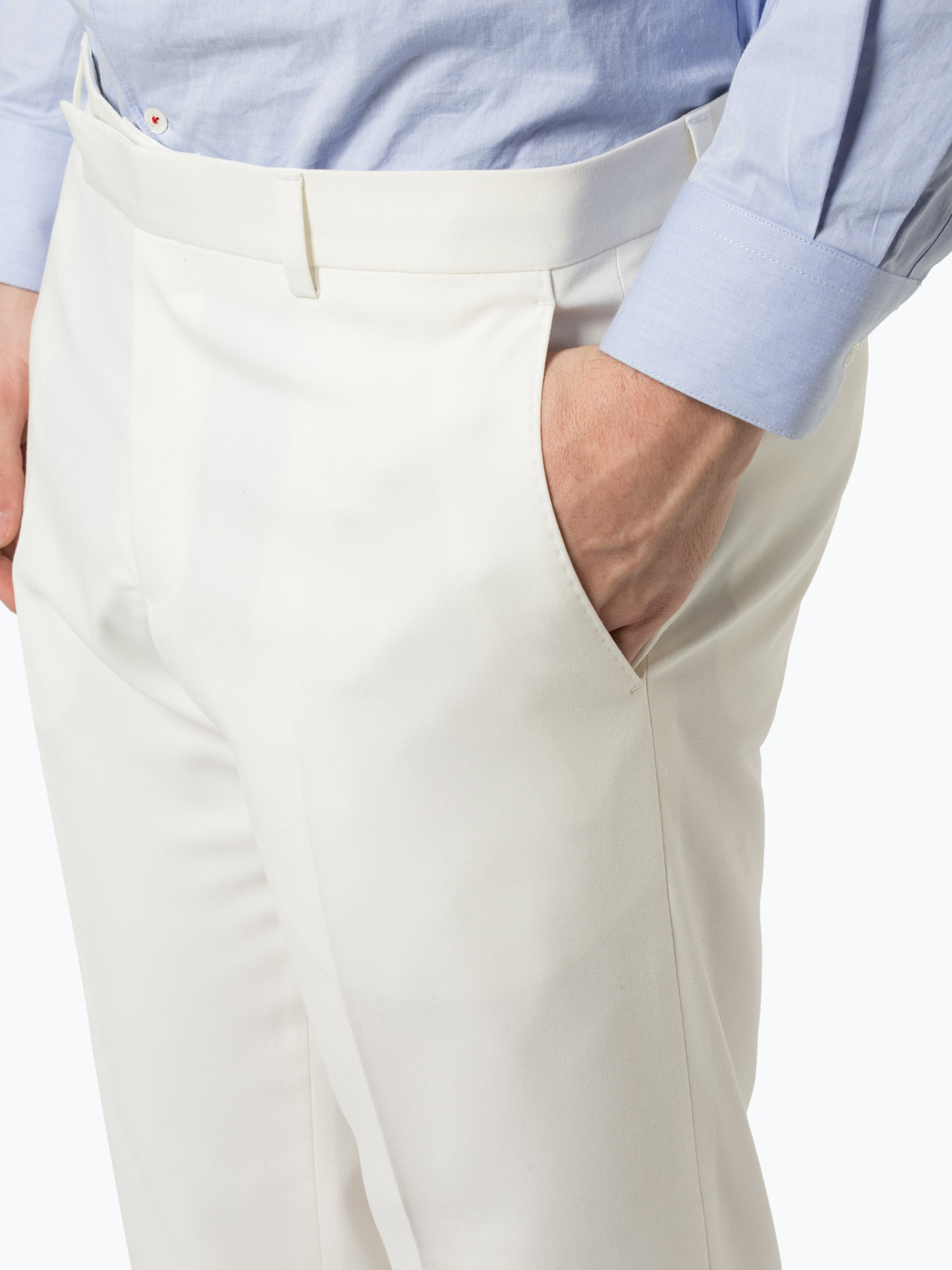 Finshley & Harding Męskie spodnie od garnituru modułowego – Black Label – Kalifonia