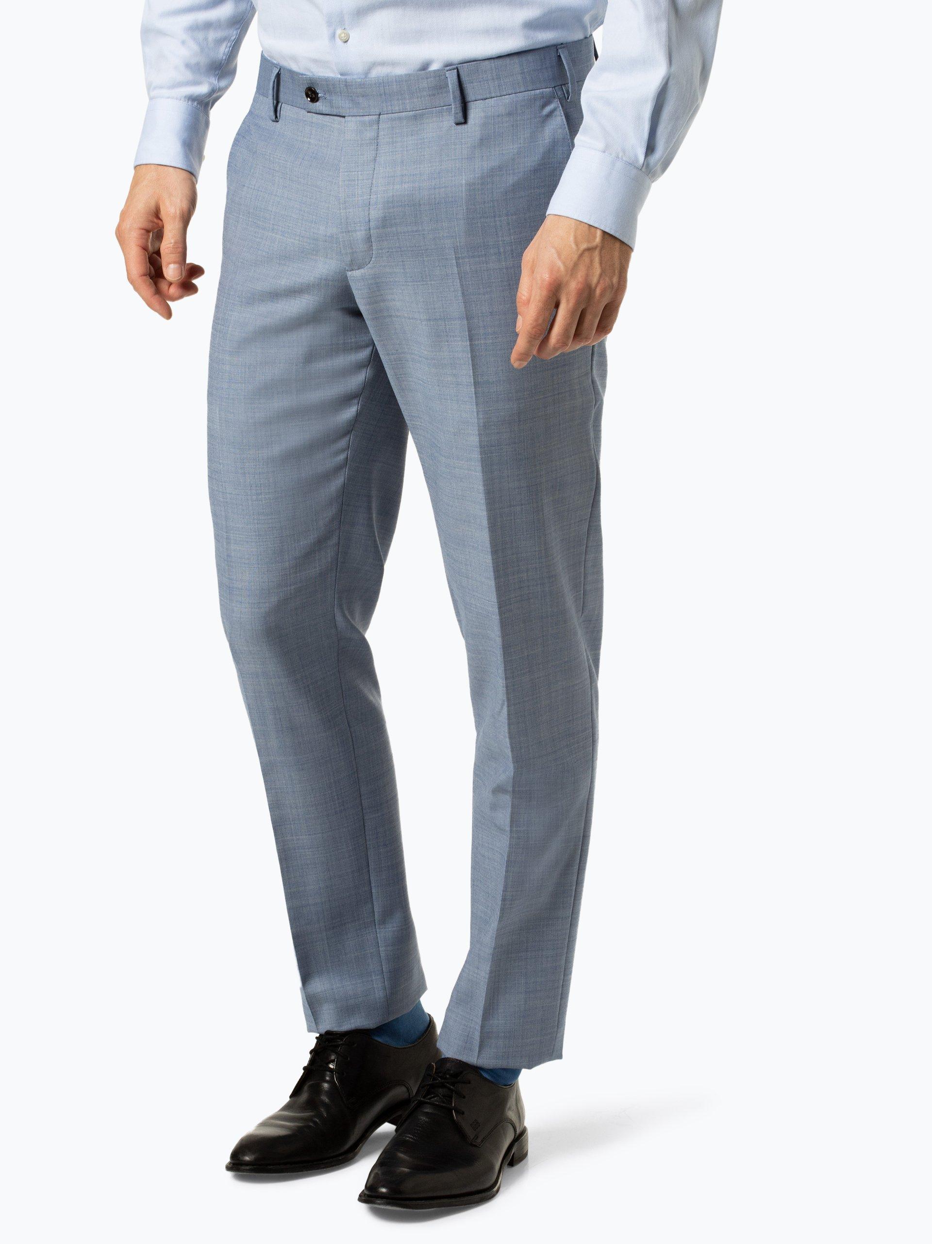 Finshley & Harding Męskie spodnie od garnituru modułowego – Black Label - Mitch